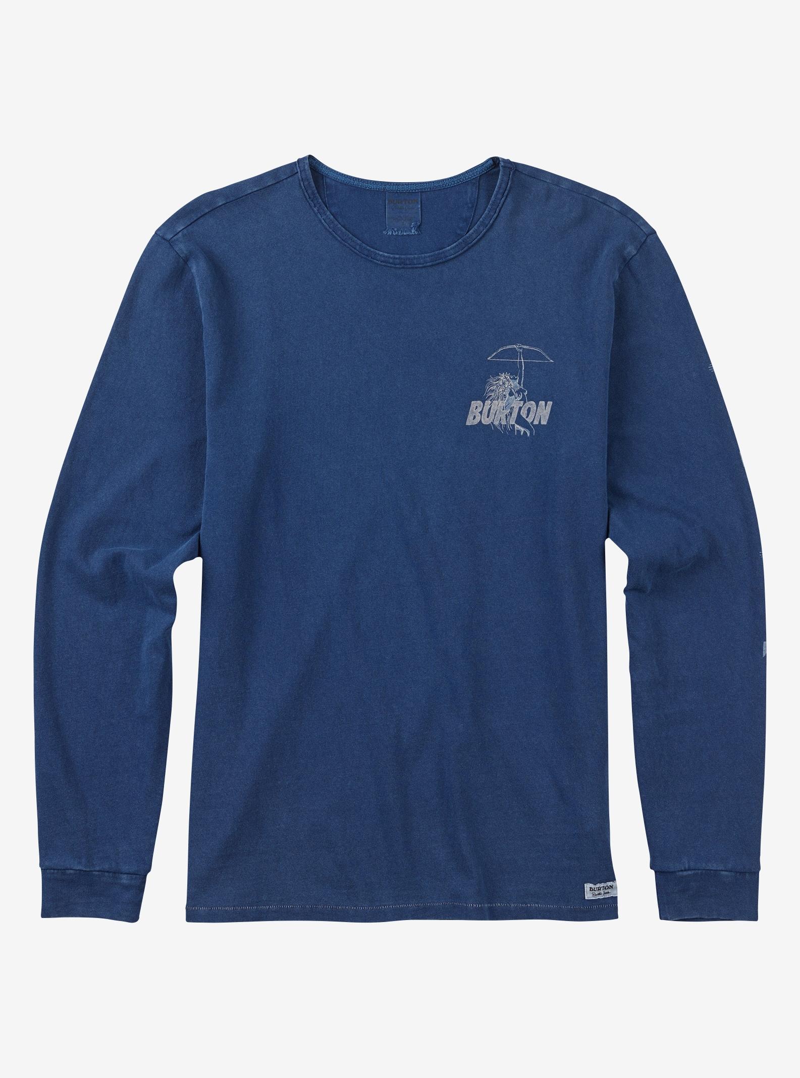 Men's Burton Walker Long Sleeve T Shirt shown in Mood Indigo