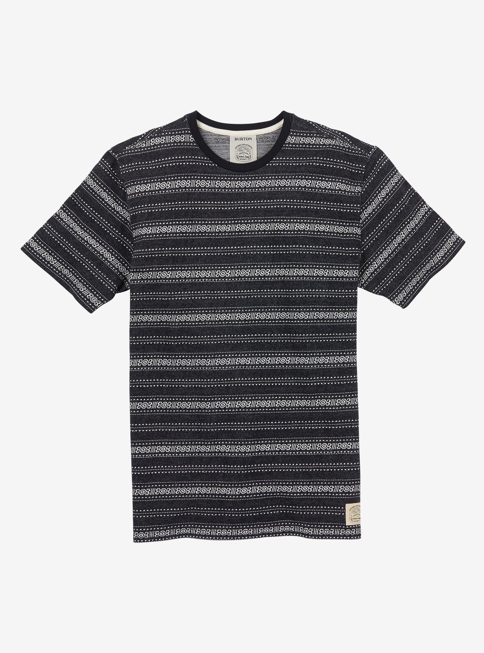 Men's Burton Foster Short Sleeve T Shirt shown in True Black