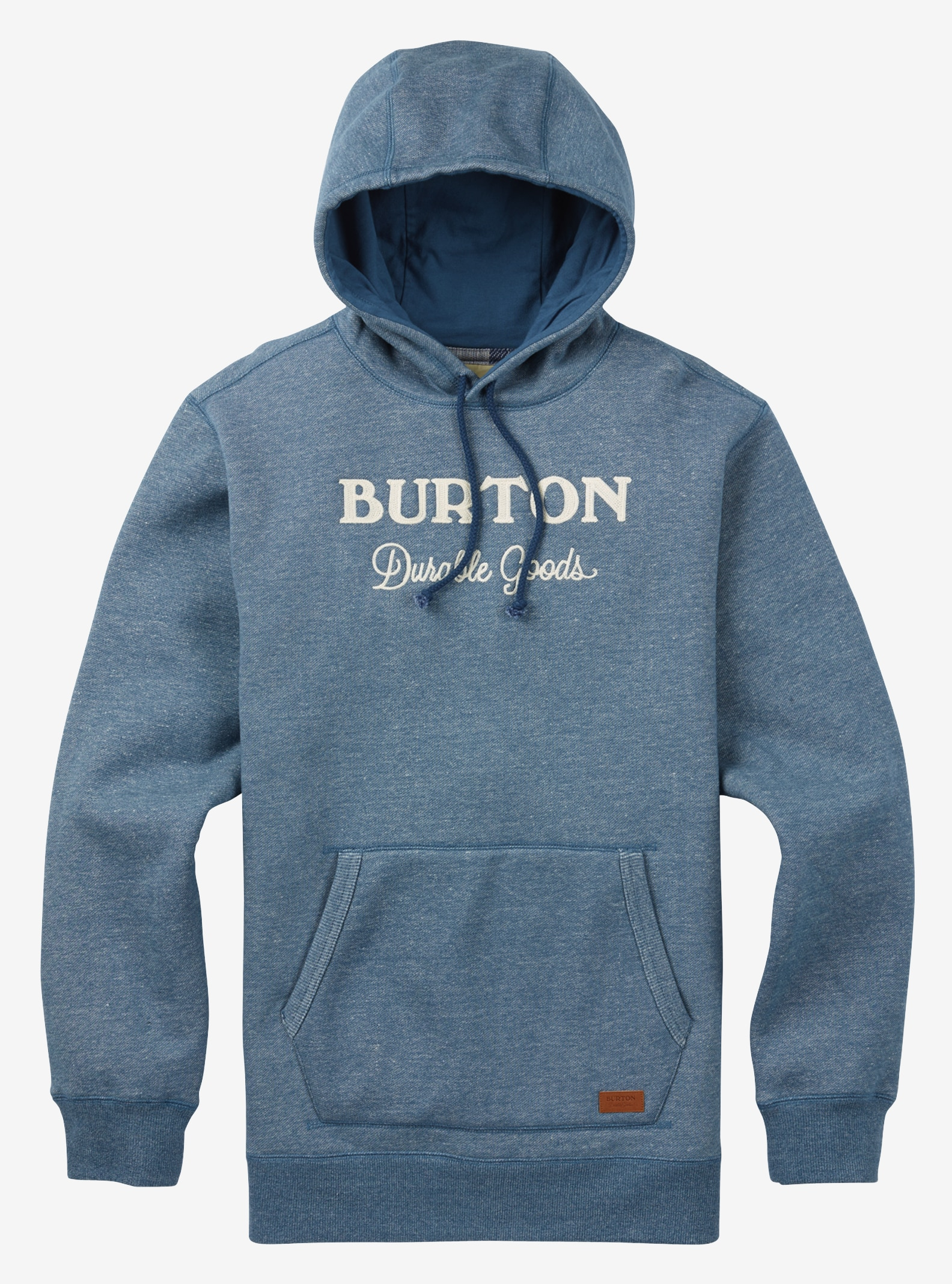 Men's Burton Maynard Pullover Hoodie shown in Indigo Heather