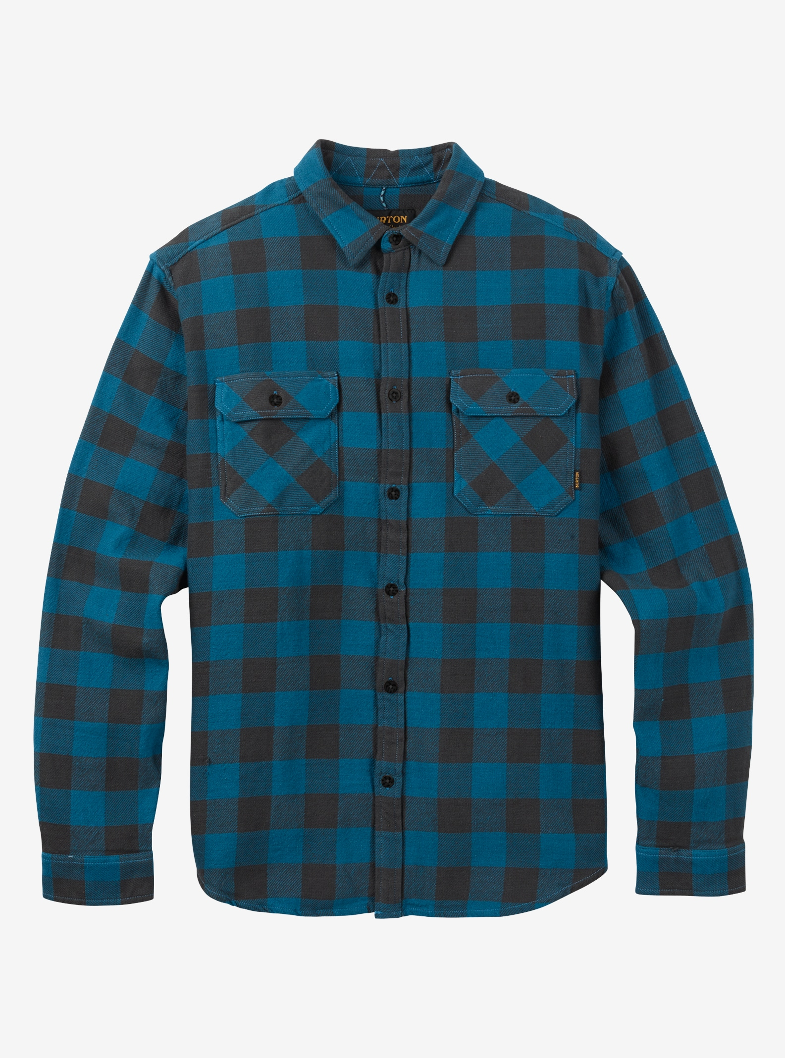 Men's Burton Brighton Burly Flannel shown in Mountaineer Buffalo Plaid