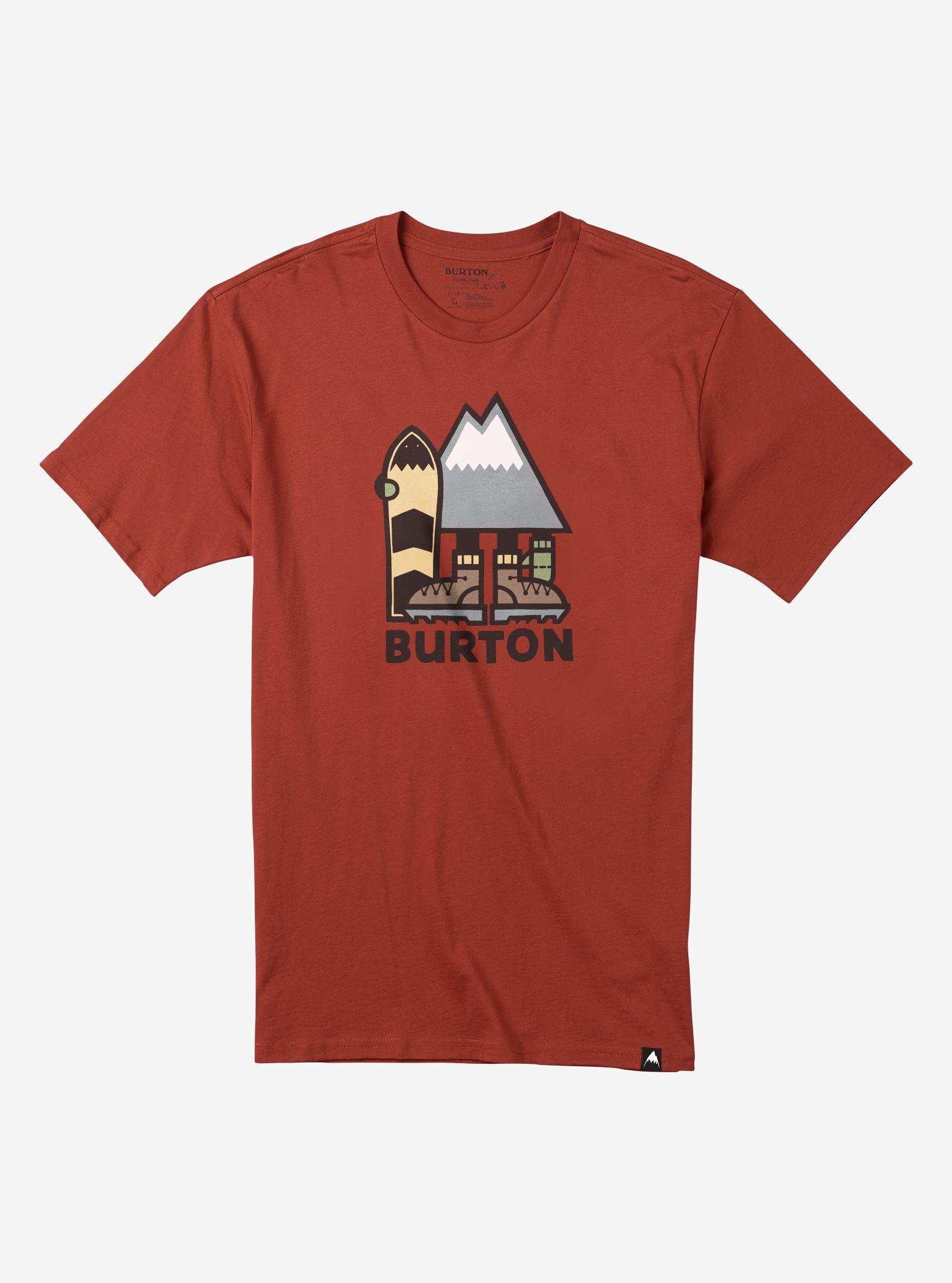 Burton Ripton T-Shirt für Herren angezeigt in Bitters