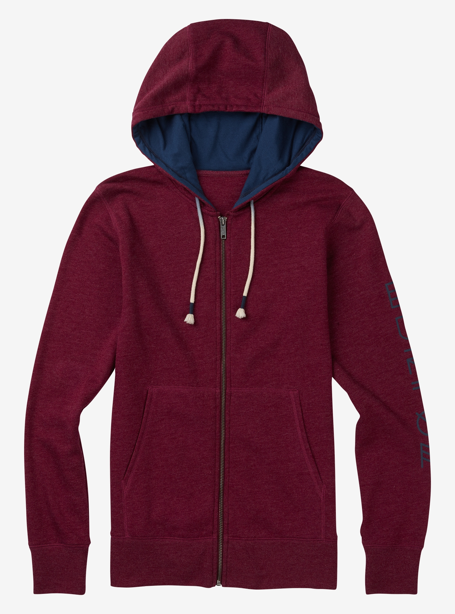 Women's Burton Infinity Full-Zip Hoodie shown in Sangria