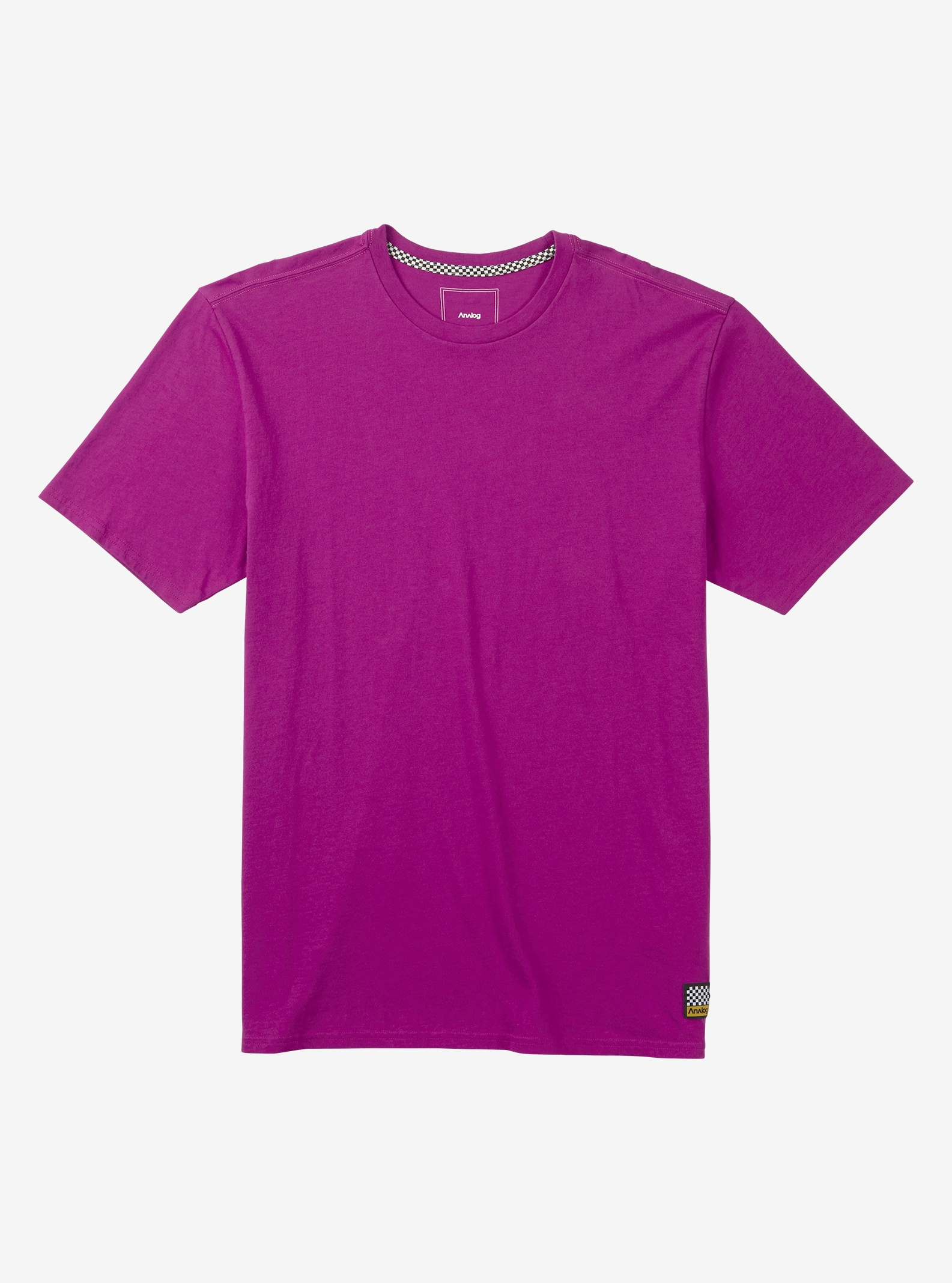 Men's Analog Lafayette Short Sleeve T Shirt shown in Grapeseed