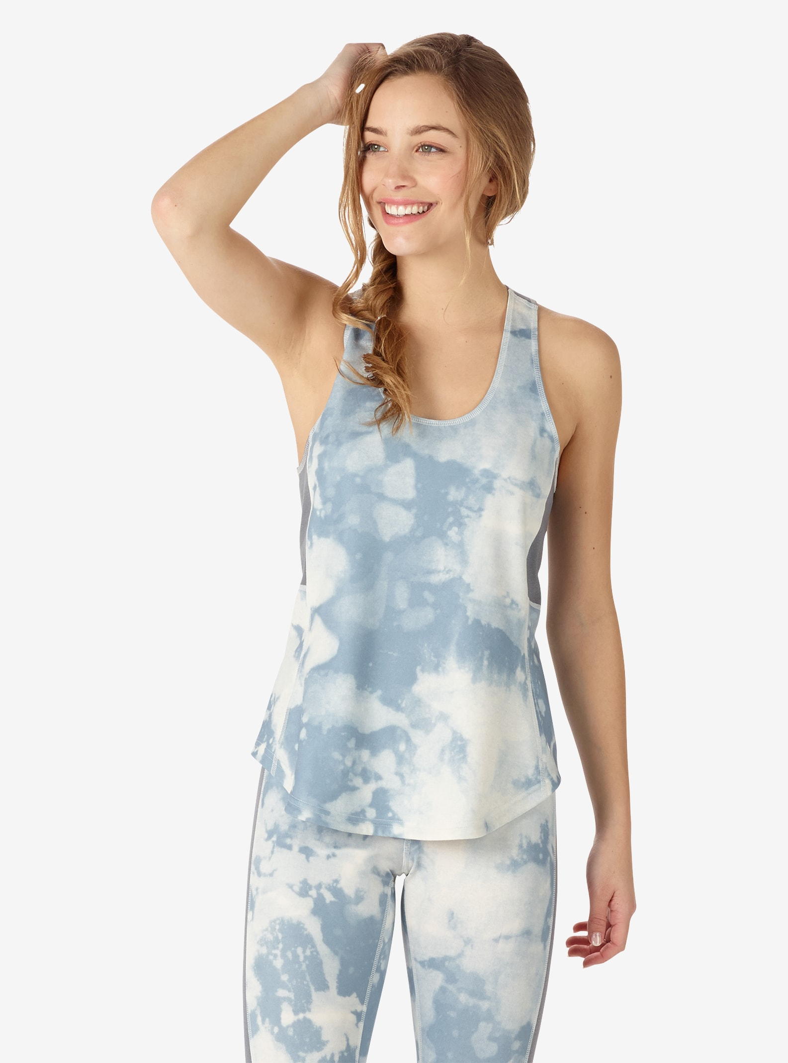 Women's Burton Active Tank shown in Bleached
