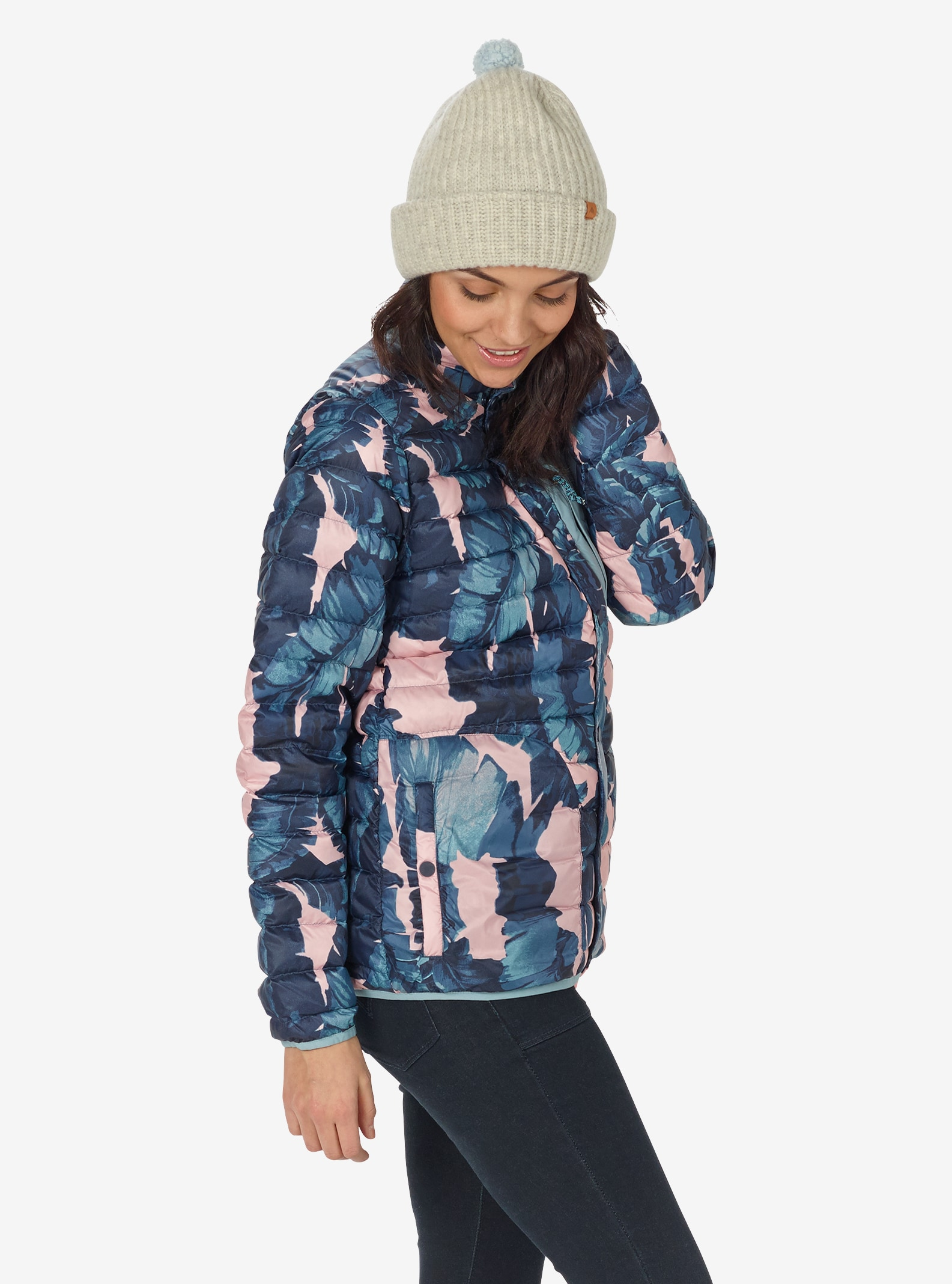 Women's Burton Aliz Evergreen Down Collar Insulator shown in Zolatta