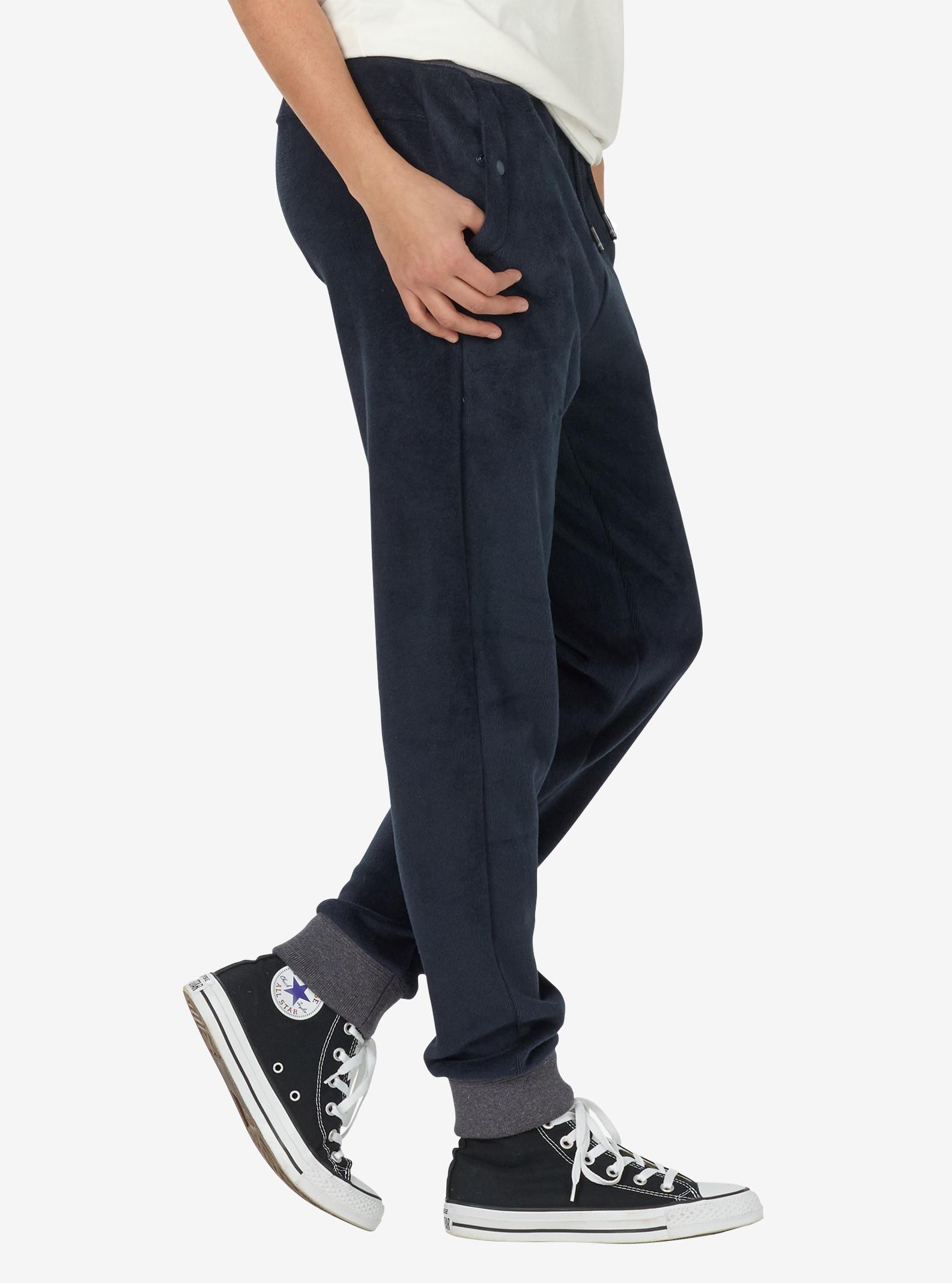 Women's Burton Rolston Fleece Pant shown in Mood Indigo Heather