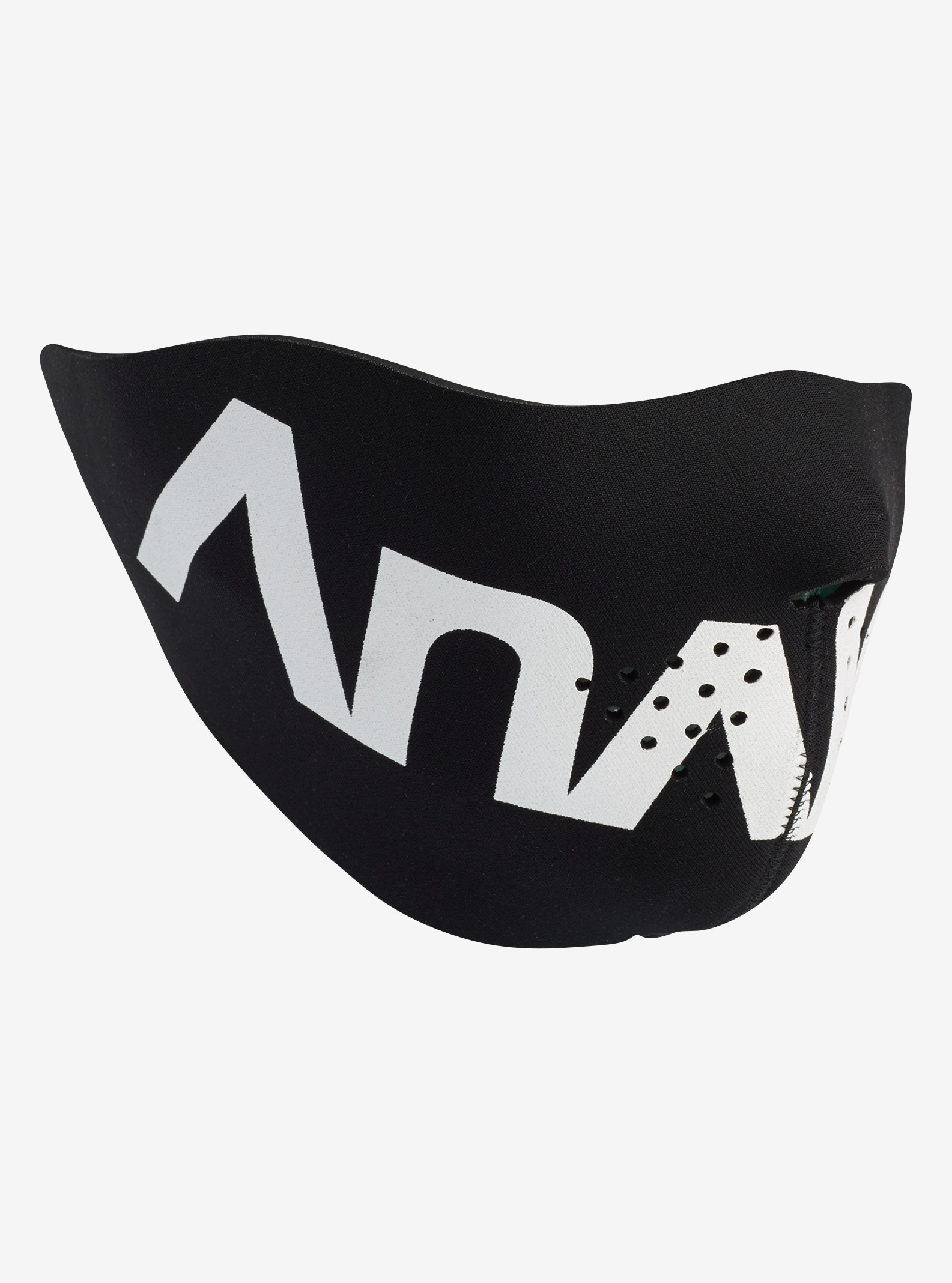 Analog Idle Face Mask shown in True Black