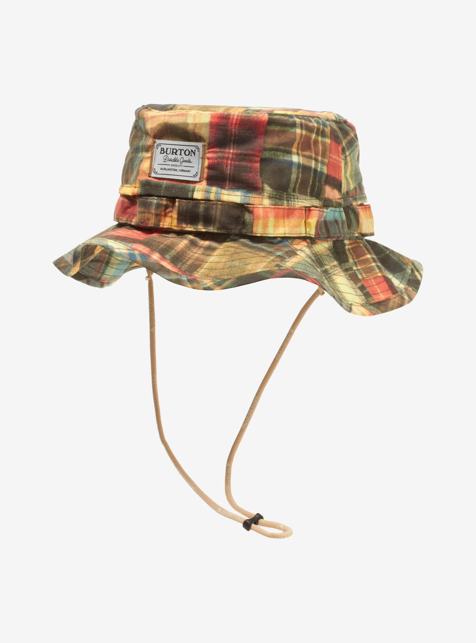 Men's Burton Adventure Hat shown in Well-Loved Patching