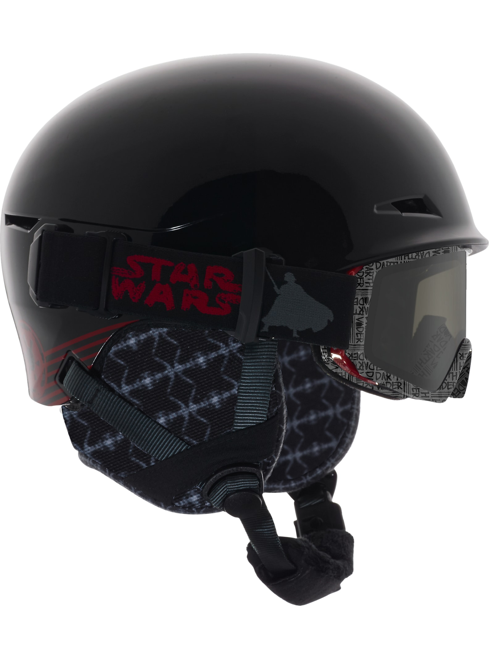 Star Wars anon. - Casque Define affichage en Darth Vader