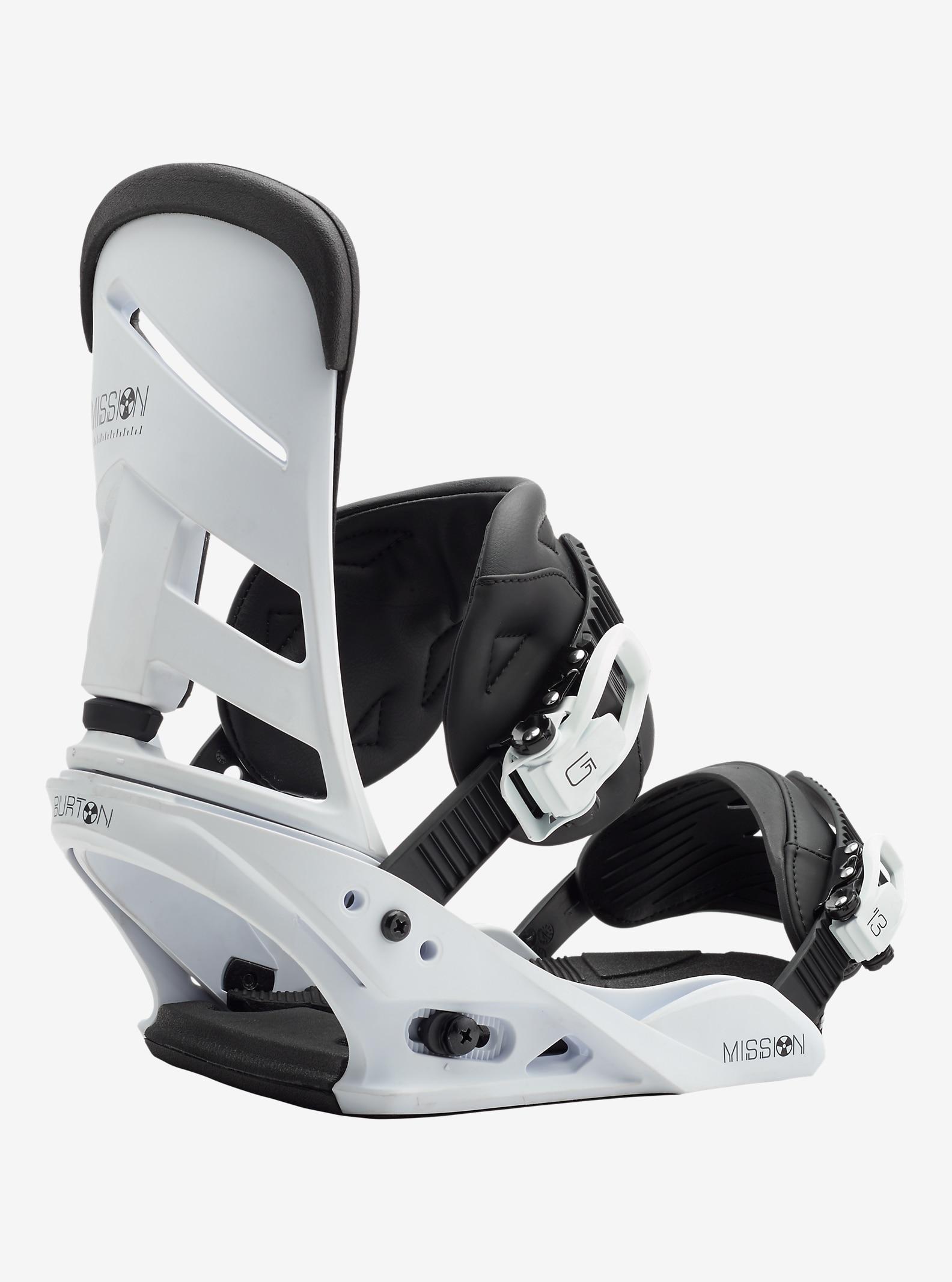Burton Mission LTD Snowboard-Bindung angezeigt in White