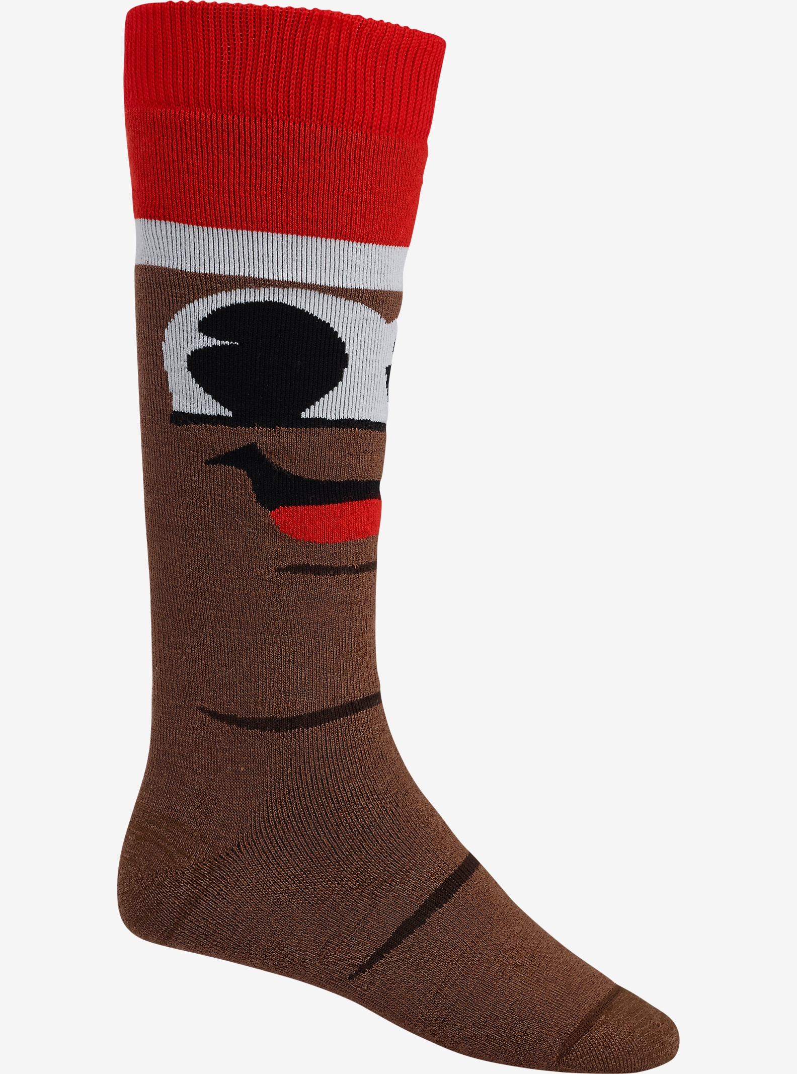 Burton x South Park Mr. Hankey Party Sock shown in Mr. Hankey