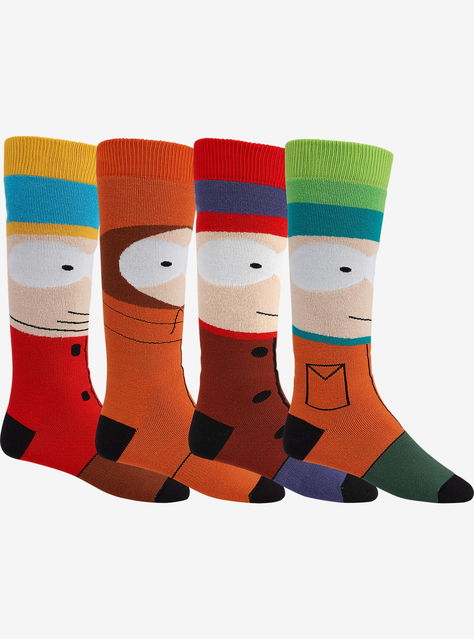 Burton x South Park Weekend Sock Two-Pack shown in South Park