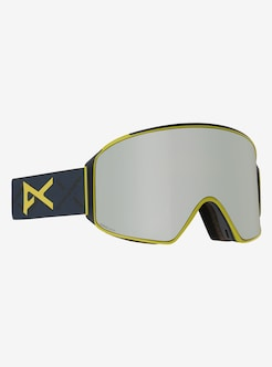 39807646bcdd Men s Anon M4 Cylindrical Toric Goggle + Spare Lens + MFI Face Mask shown in