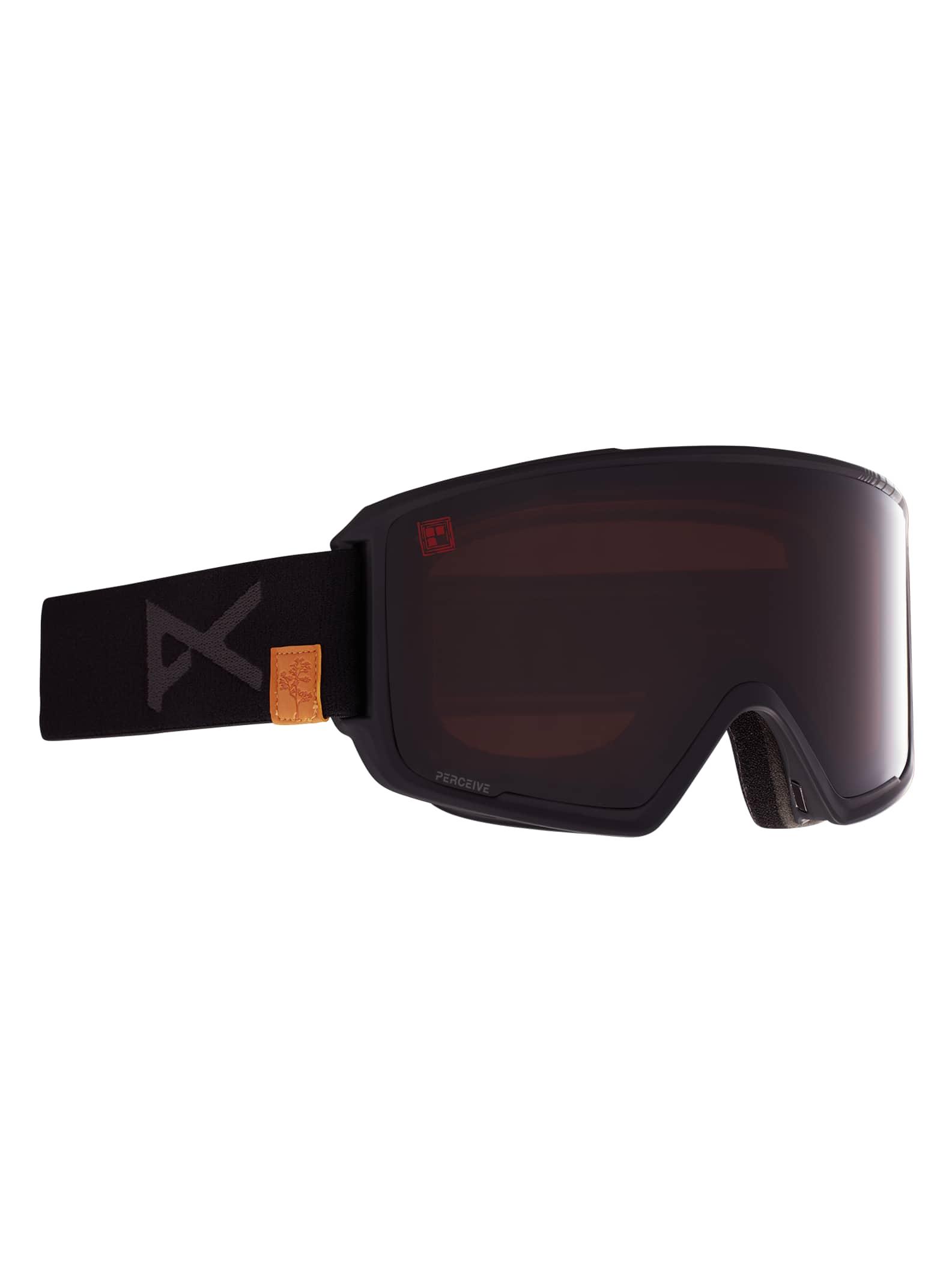 Anon Eric Pollard M3 skidglasögon + reservlins + MFI® ansiktsskydd för herrar