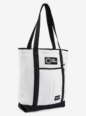 Burton Polartec® One World North South 19L Tote shown in Stout White