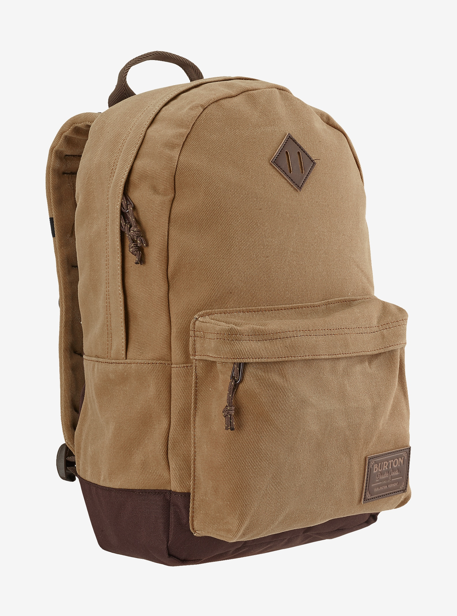 Burton Kettle Backpack shown in Beagle Brown Waxed Canvas