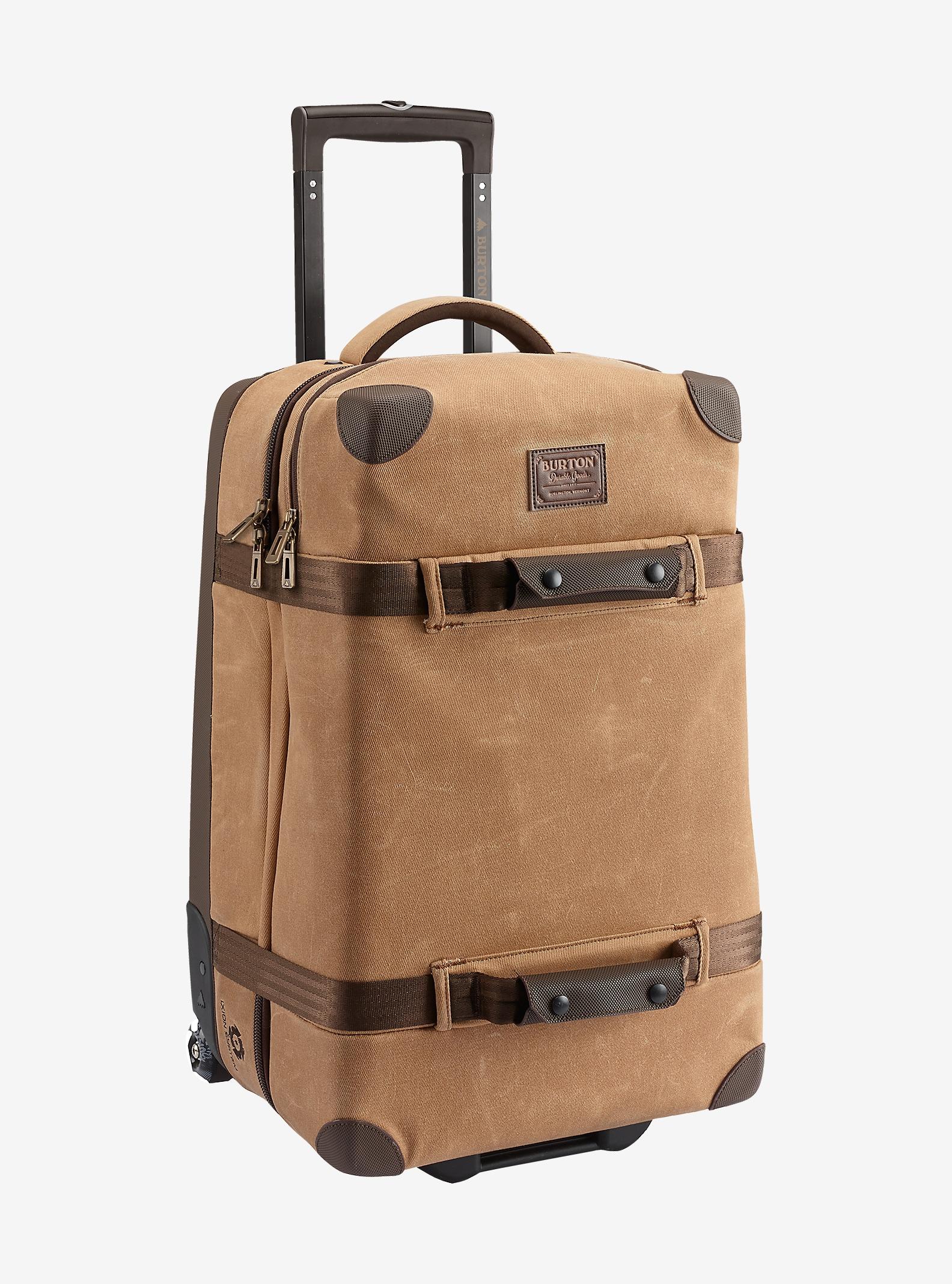 Burton Wheelie Cargo Travel Bag shown in Beagle Brown Waxed Canvas