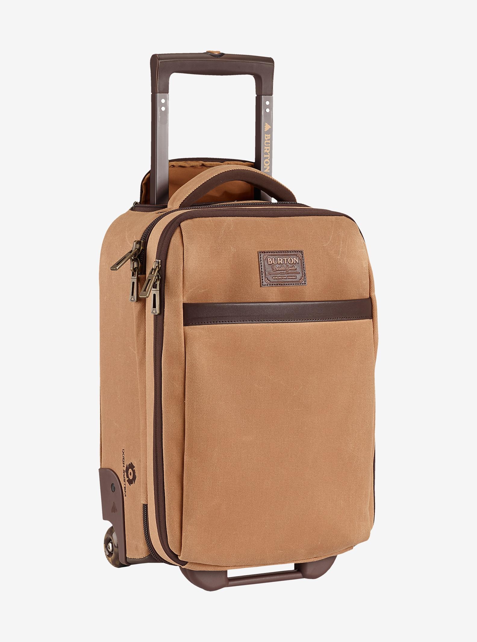 Burton Wheelie Flyer Travel Bag shown in Beagle Brown Waxed Canvas