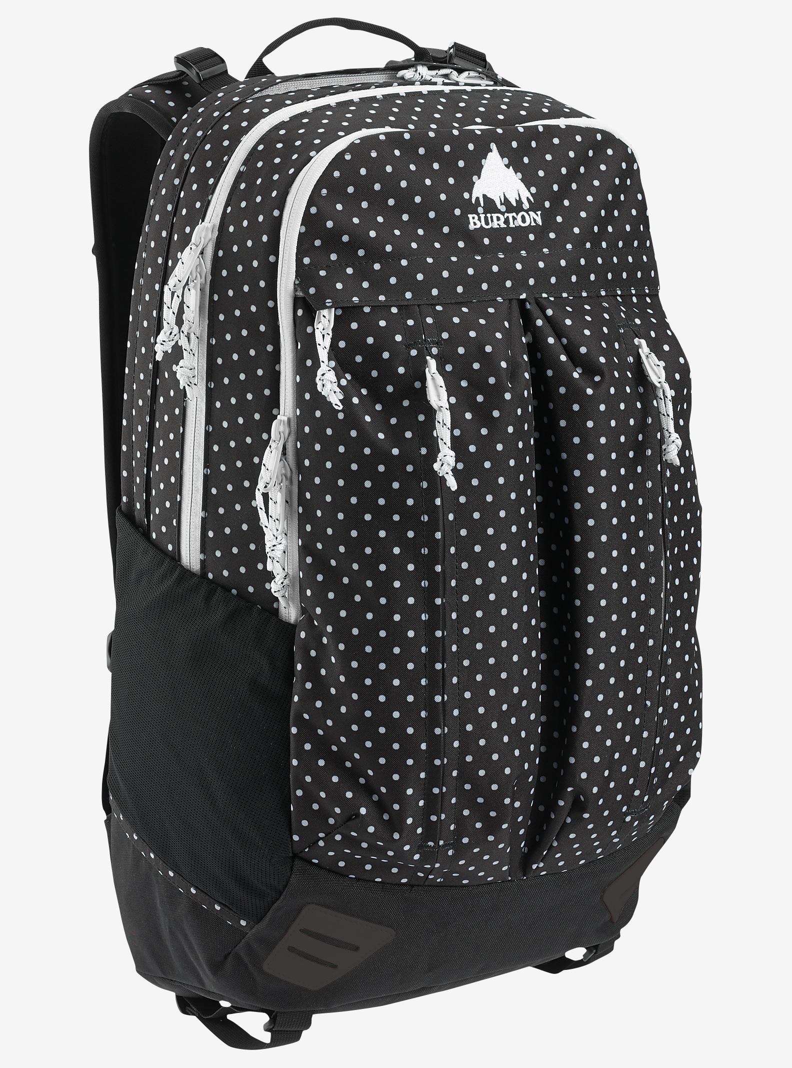 Burton Bravo Backpack shown in Black Polka Dot