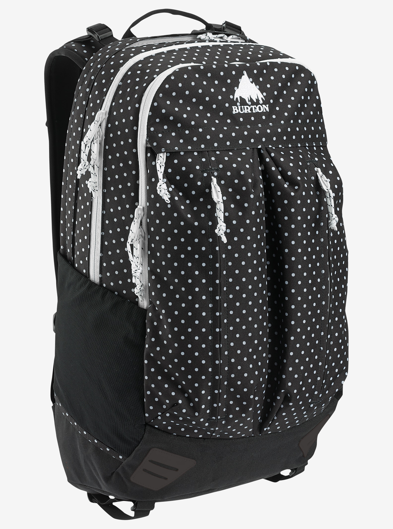 Burton Bravo Backpack shown in Black Polka Dot