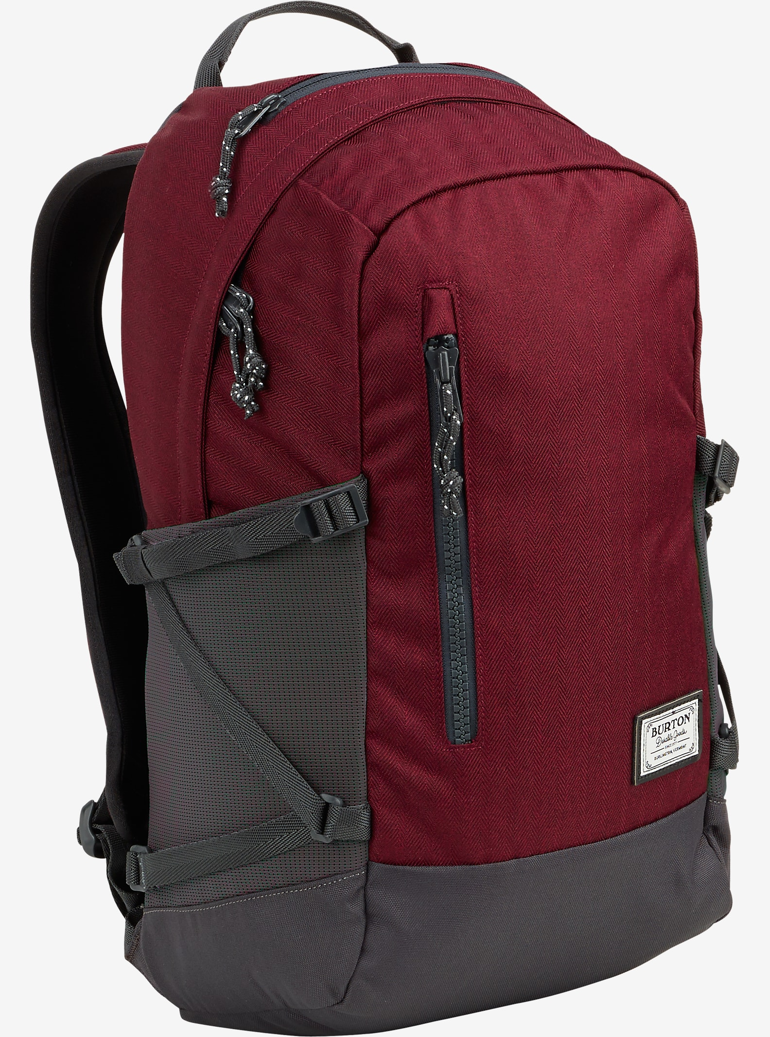 Burton Prospect Backpack shown in Zinfandel Heringbone