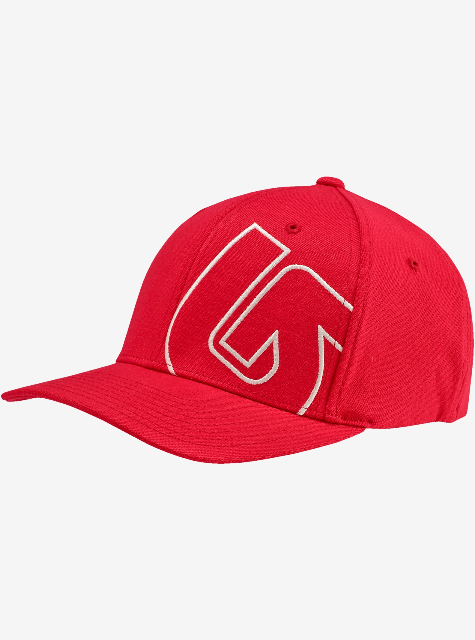 Burton Boys' Slidestyle Flex Fit Hat shown in Mars Red