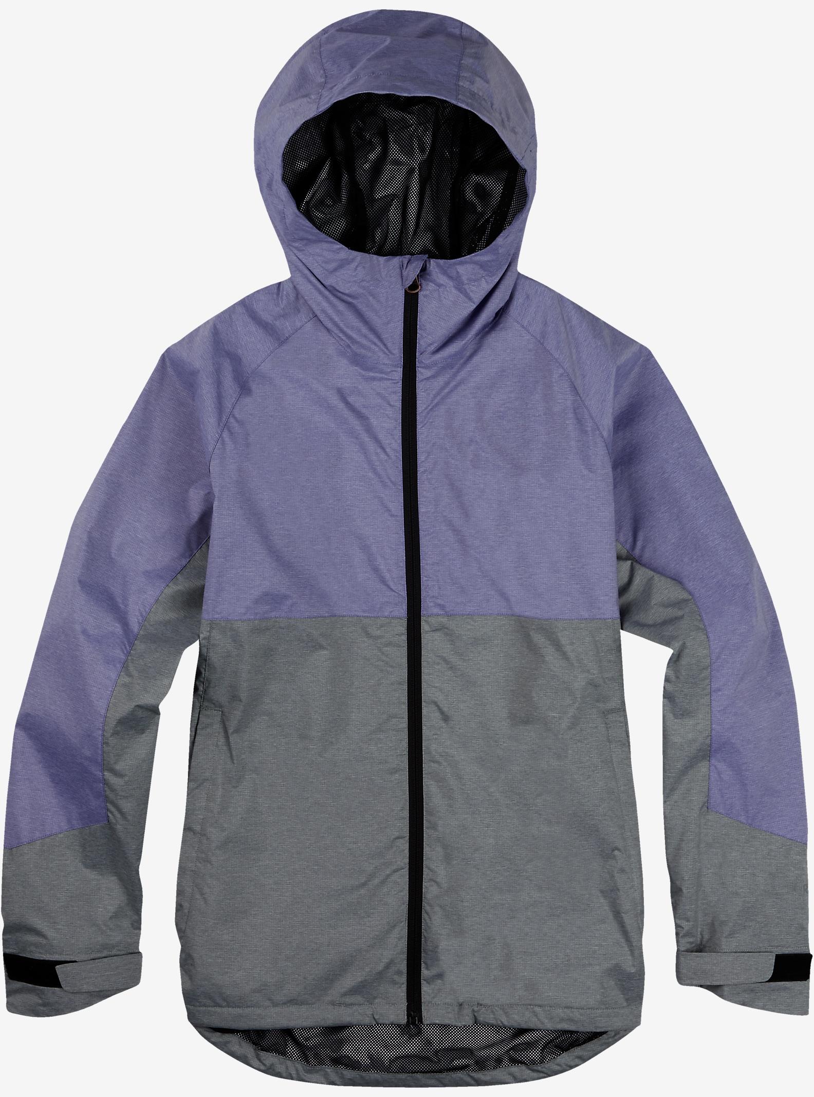 Burton Berkley Rain Jacket shown in Purple Heather