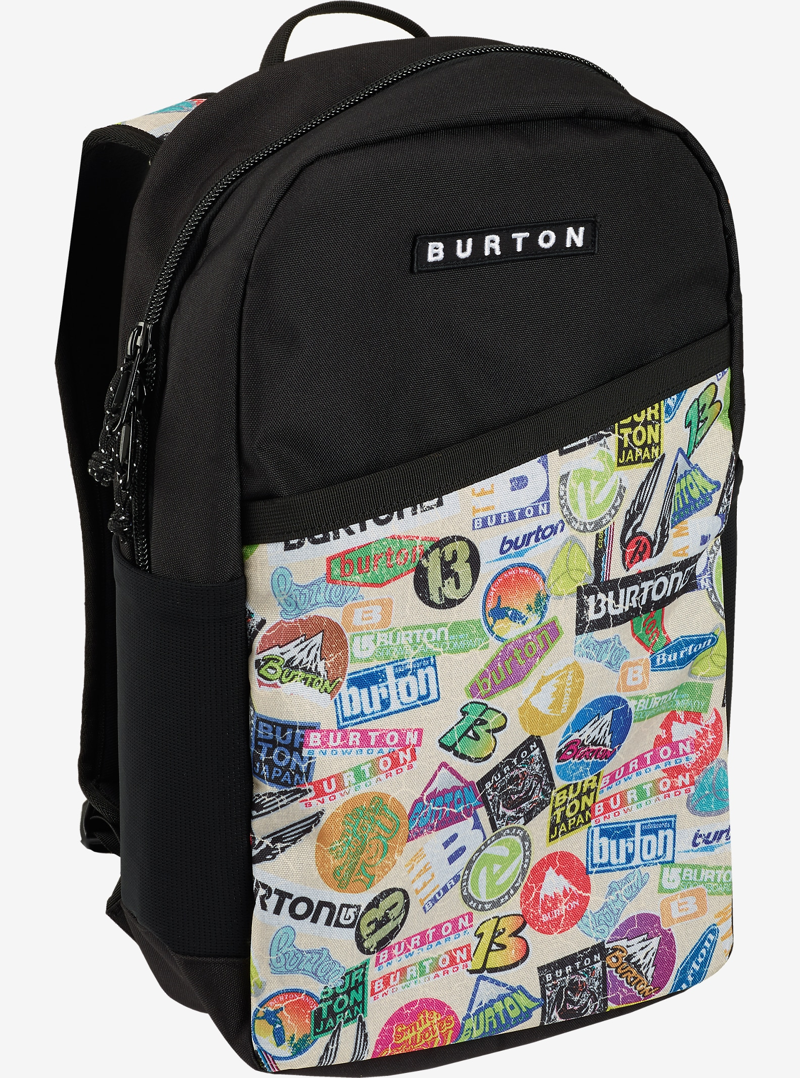 Burton Apollo Backpack shown in Sticker Print