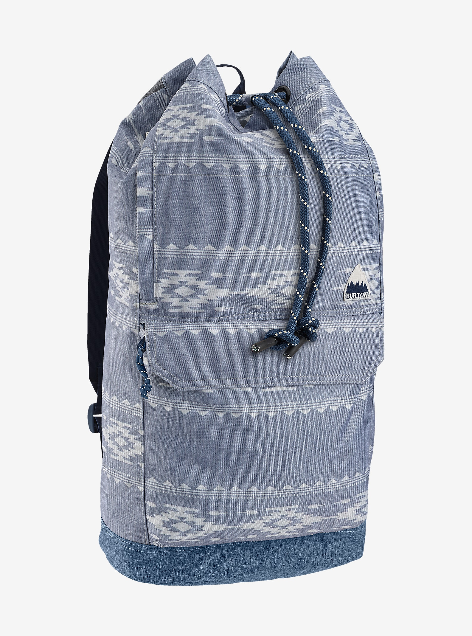 Burton Frontier Backpack shown in Famish Stripe [bluesign® Approved Fabric]