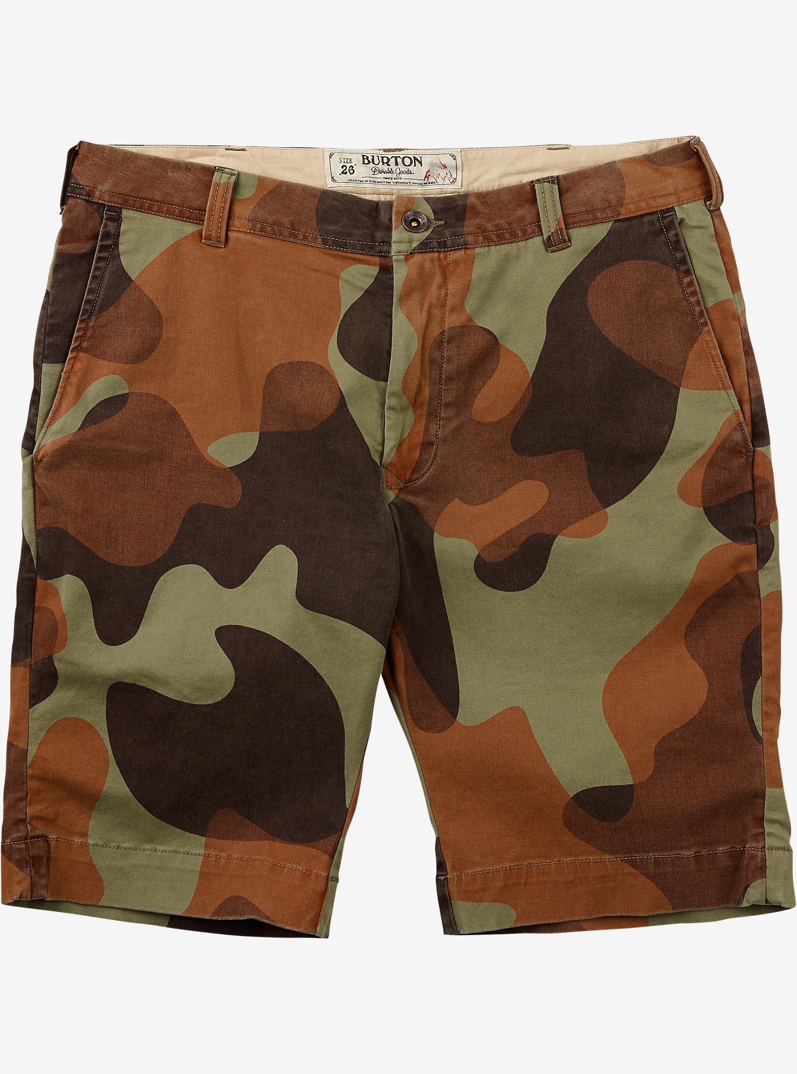 Burton Boys - Short Sawyer affichage en Mountain Camo