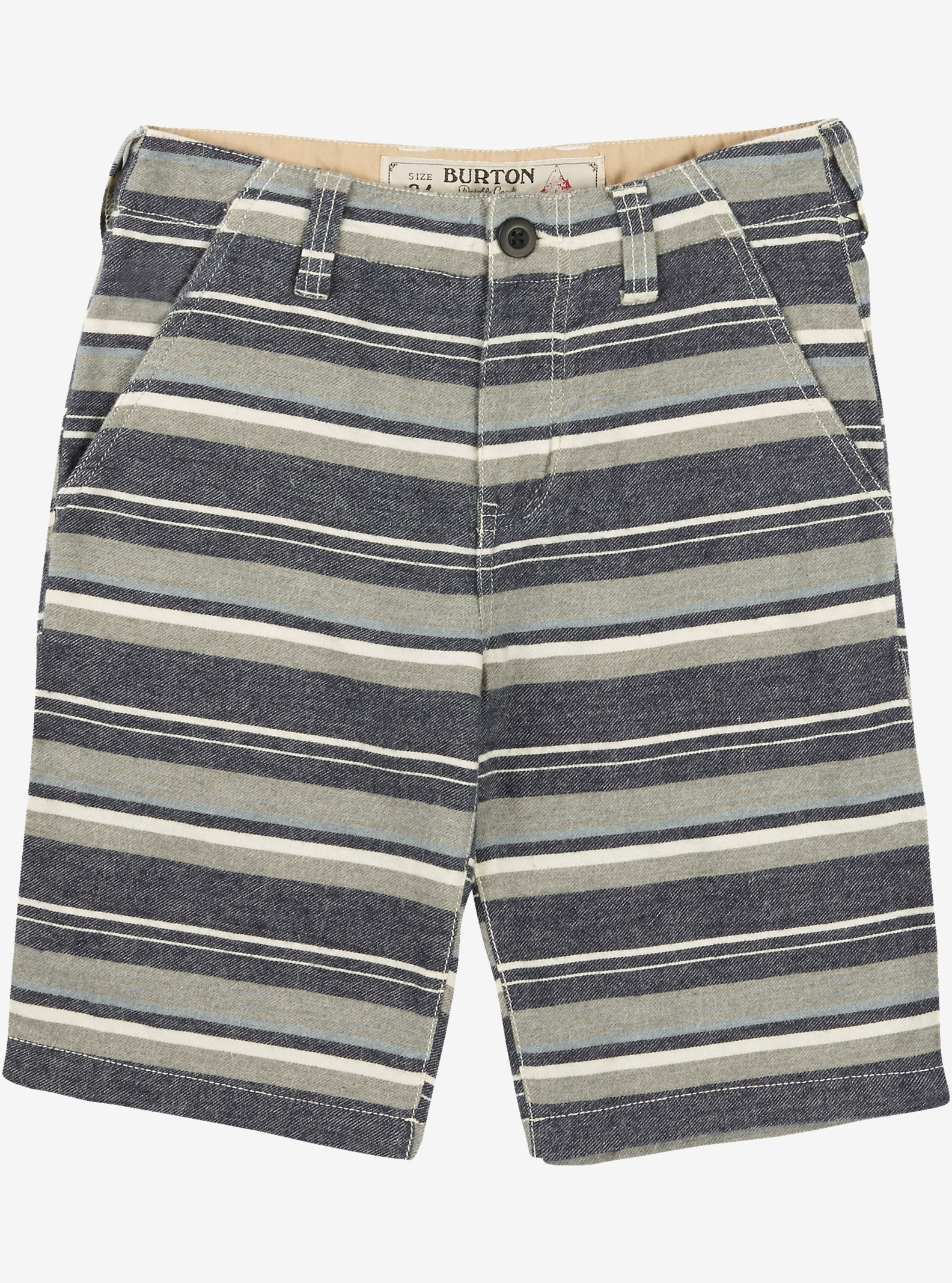 Burton Boys' Kingfield Short shown in Fleck Stripe