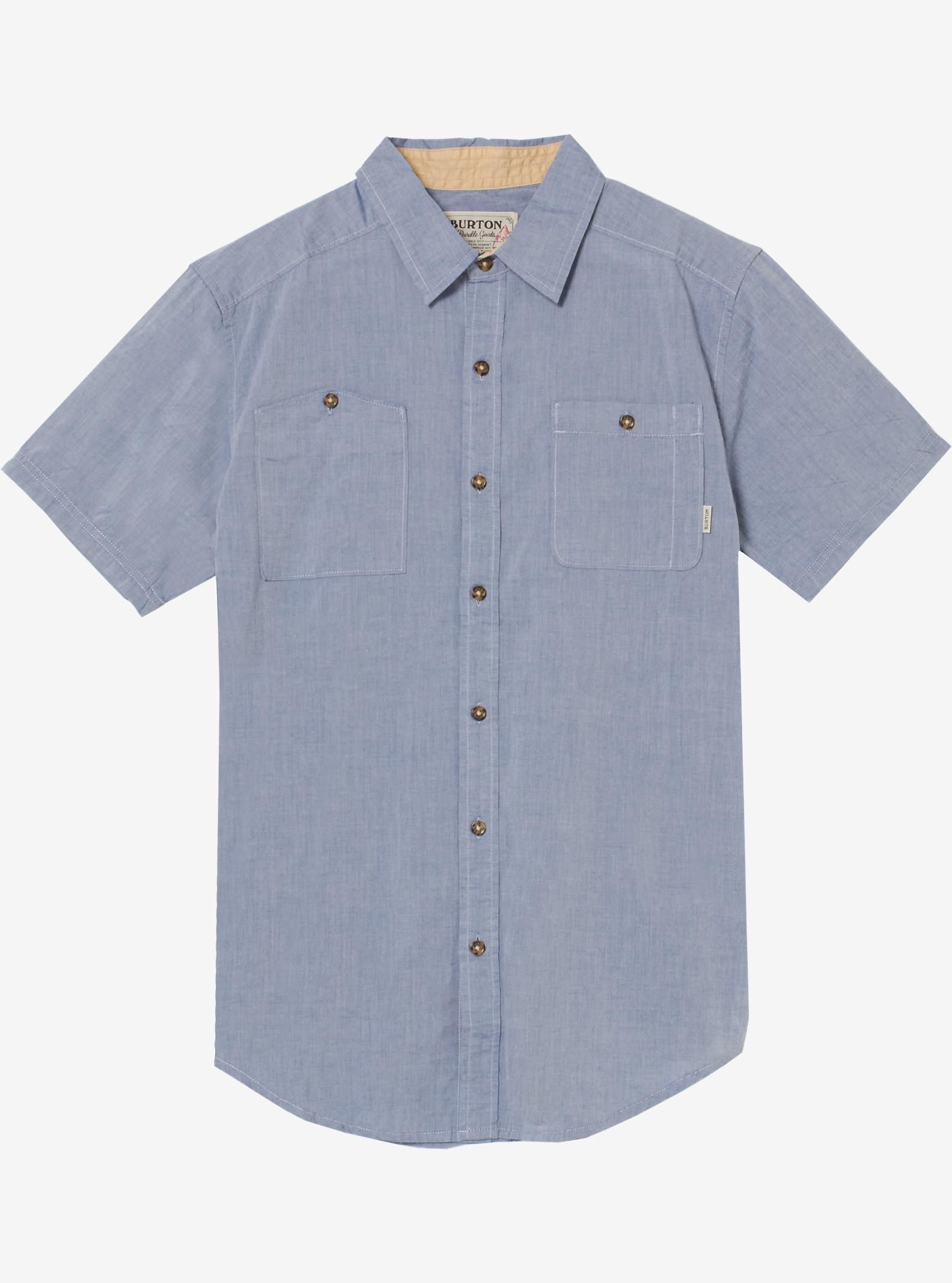 Burton Glade Kurzarmhemd angezeigt in Light Chambray