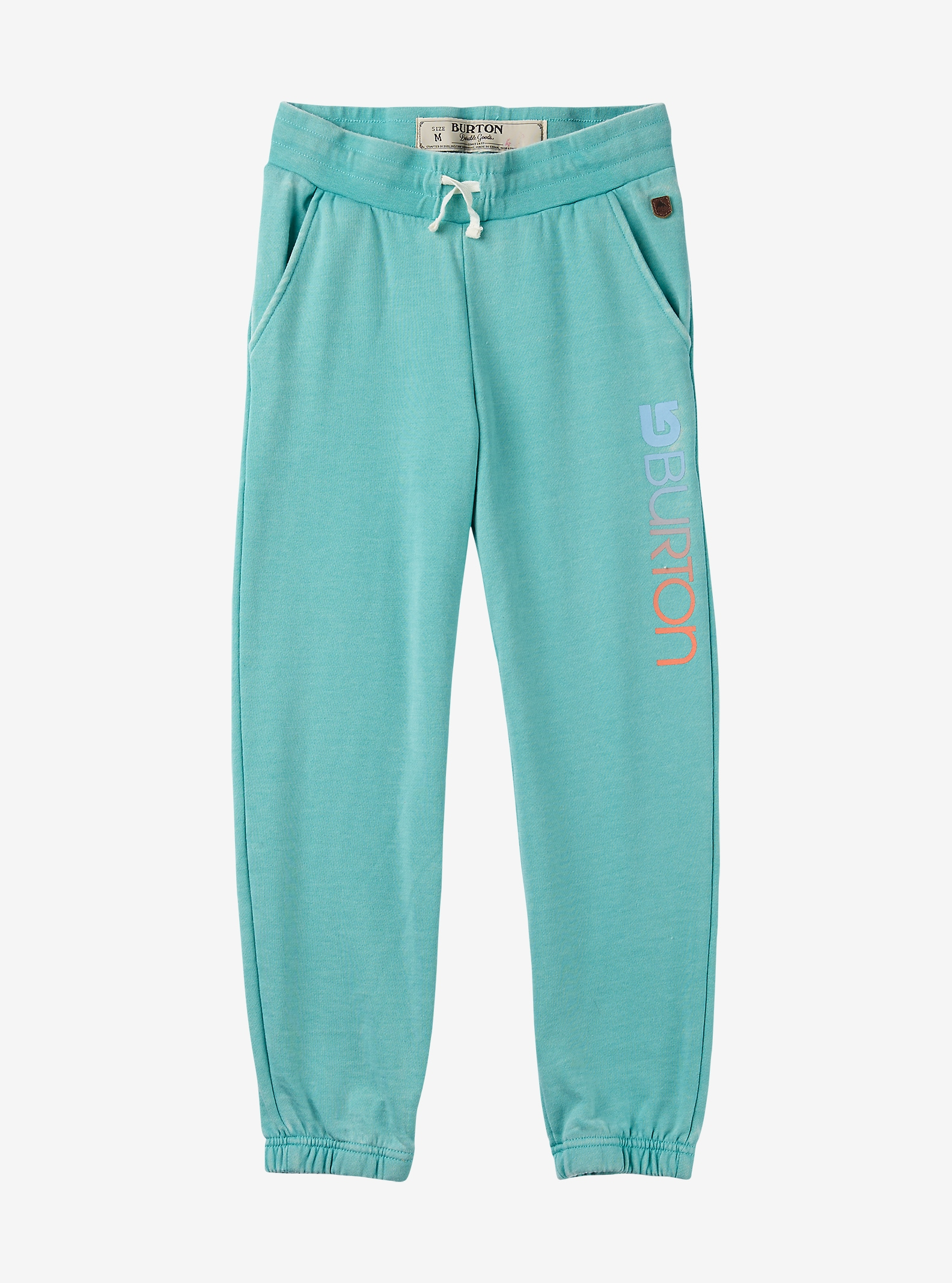 Burton Girls' Eureka Sweatpant shown in Lagoon