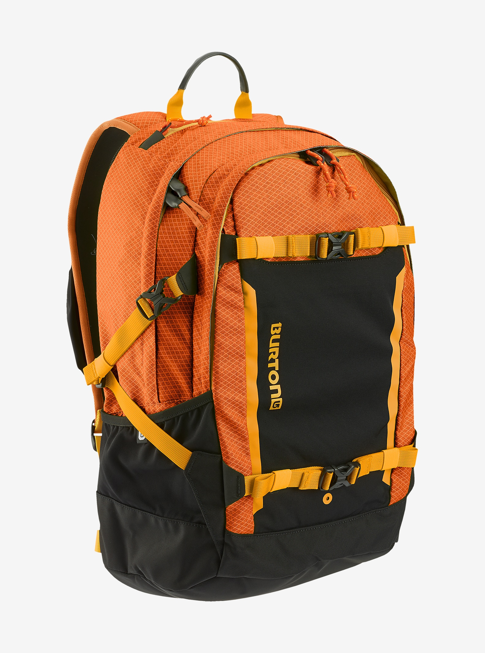 Burton Day Hiker Pro 28L Backpack shown in Burnt Orange Ripstop [bluesign® Approved Fabric]