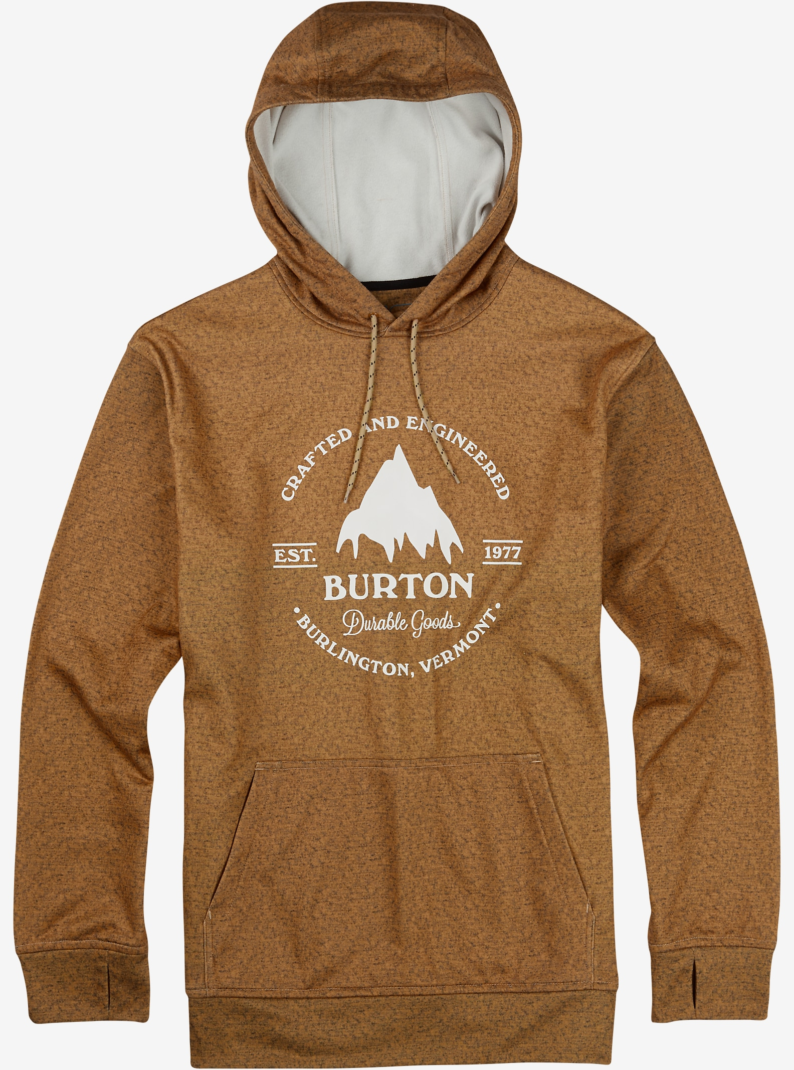 Burton Oak Pullover Hoodie shown in Bistre Heather