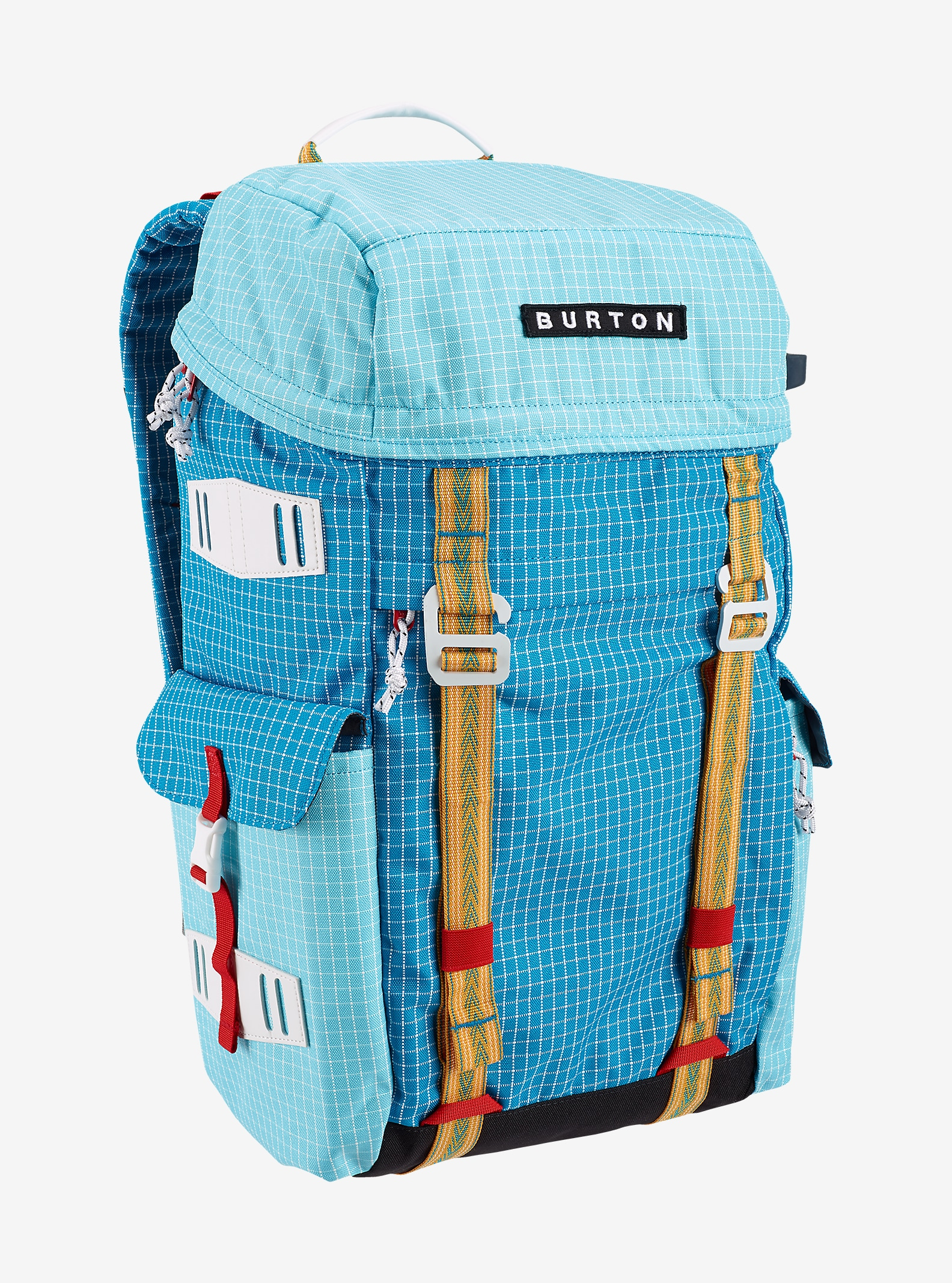 Burton Annex Backpack shown in Methyl Ripstop [bluesign® Approved Fabric]