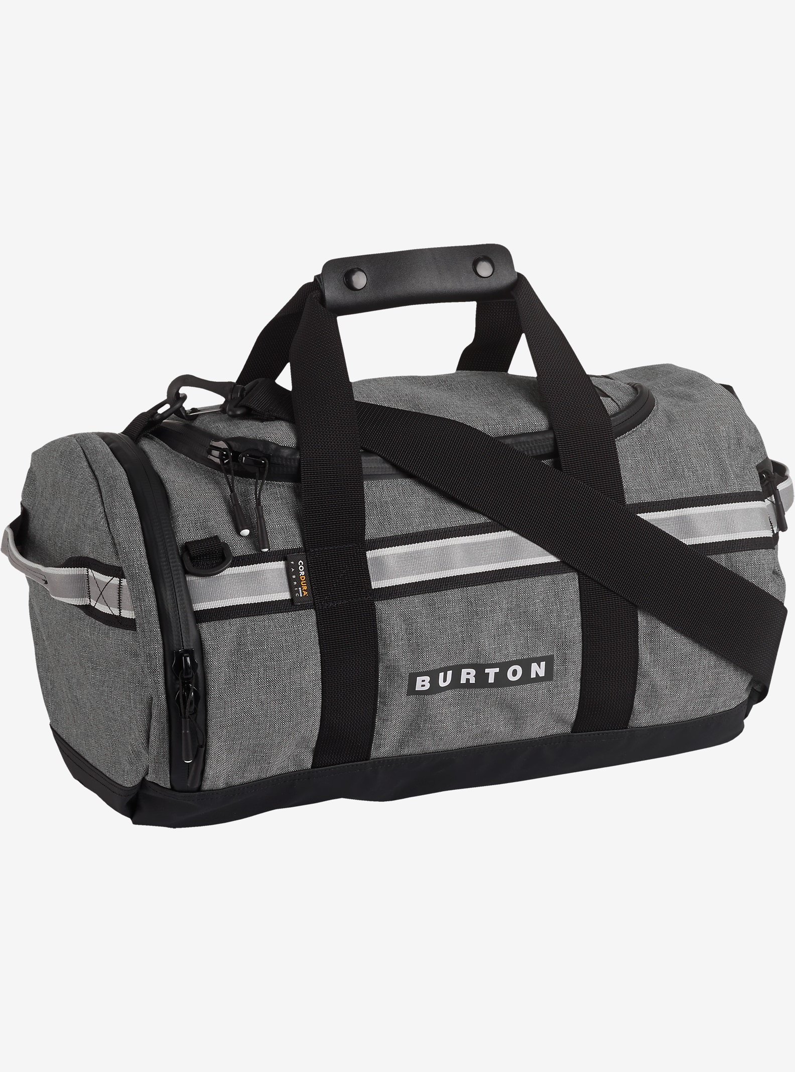 Burton Backhill Duffel Bag Extra Small 25L shown in Pelican Grey Cordura