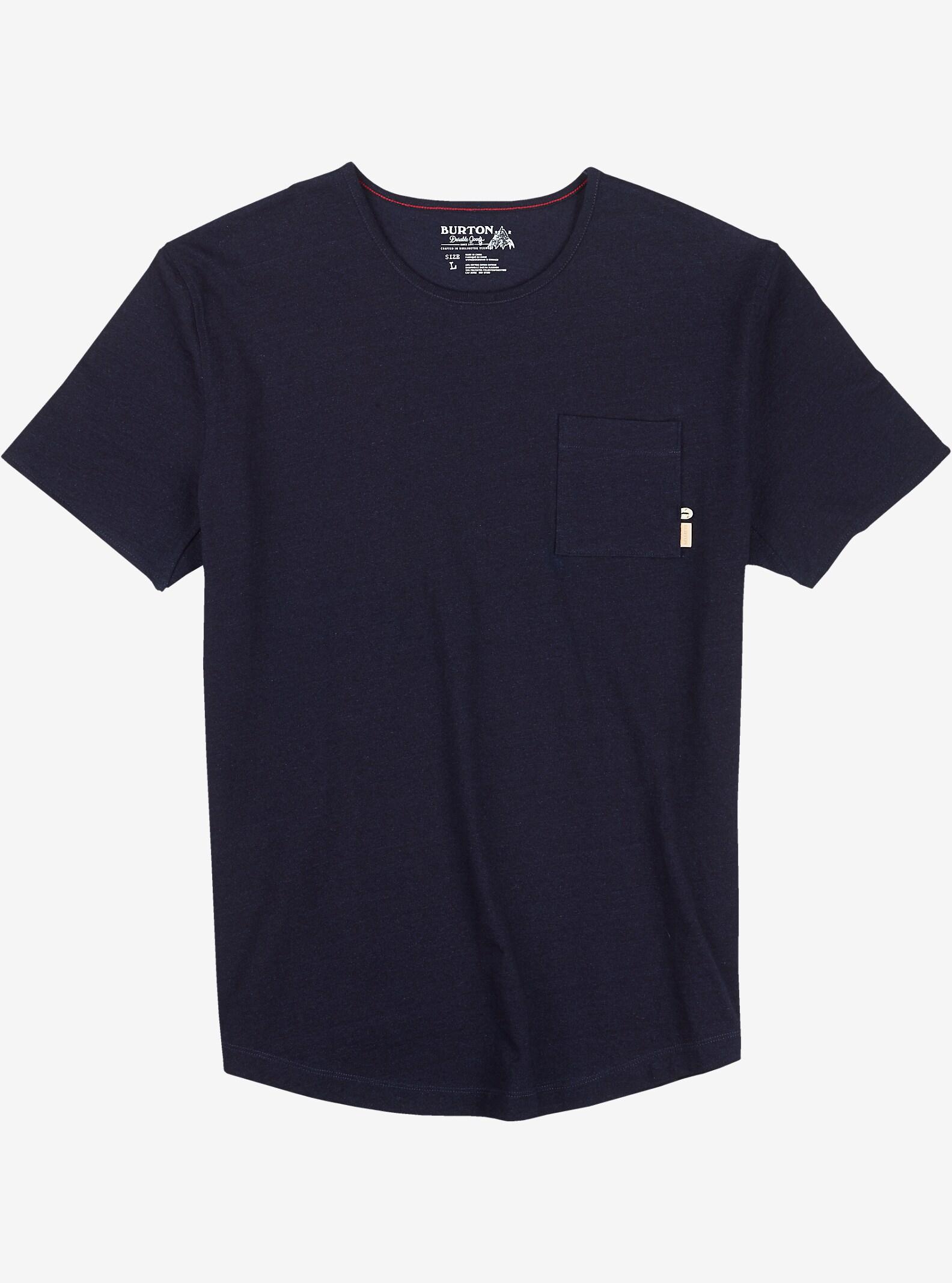 Burton Reed Short Sleeve Pocket T Shirt shown in Indigo