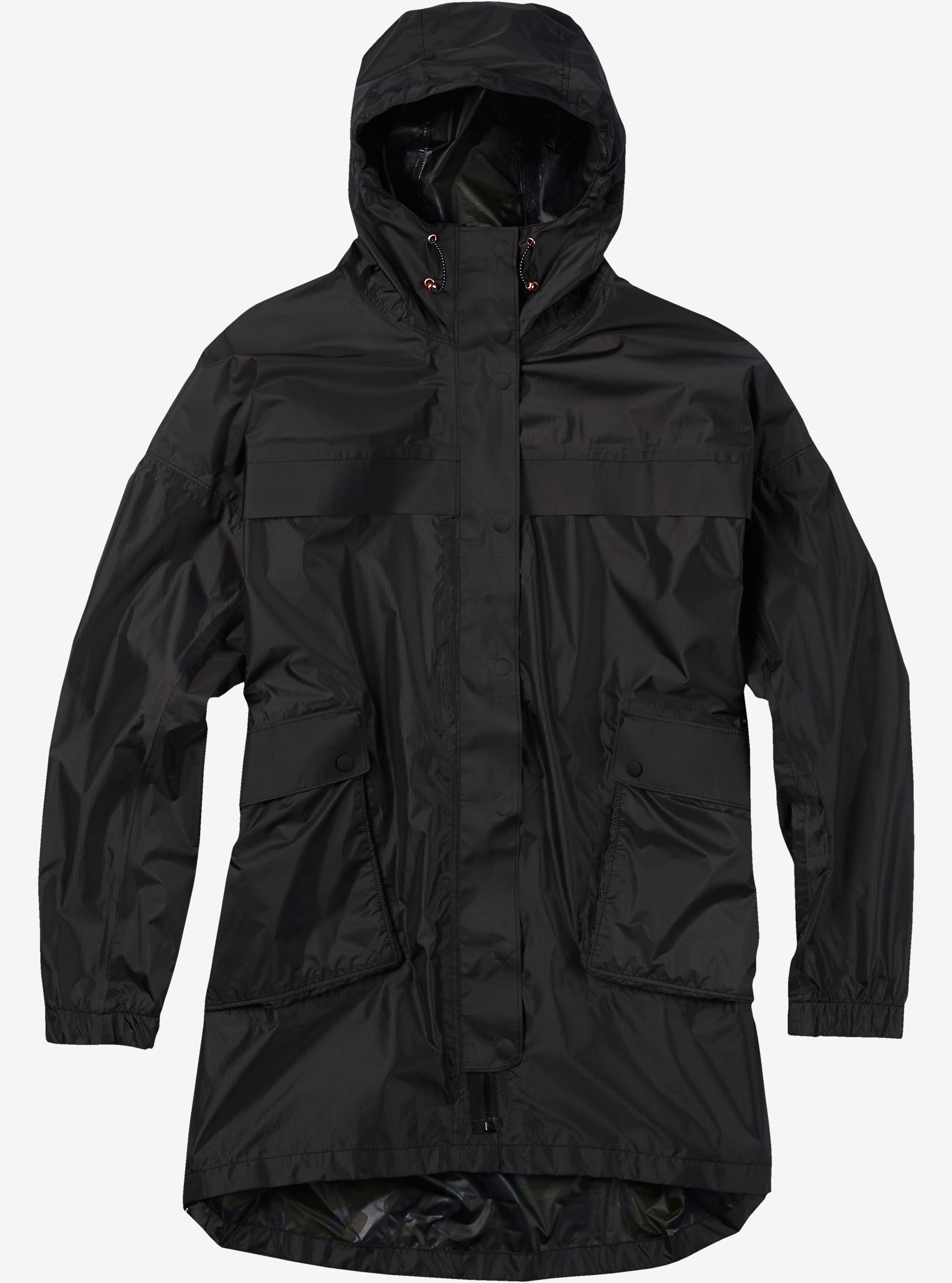 Burton Shelter Rain Jacket shown in Forged Iron