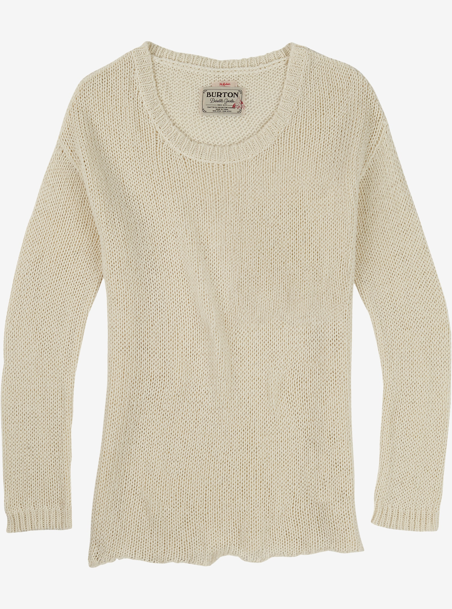 Burton Nicki Sweater shown in Canvas Heather