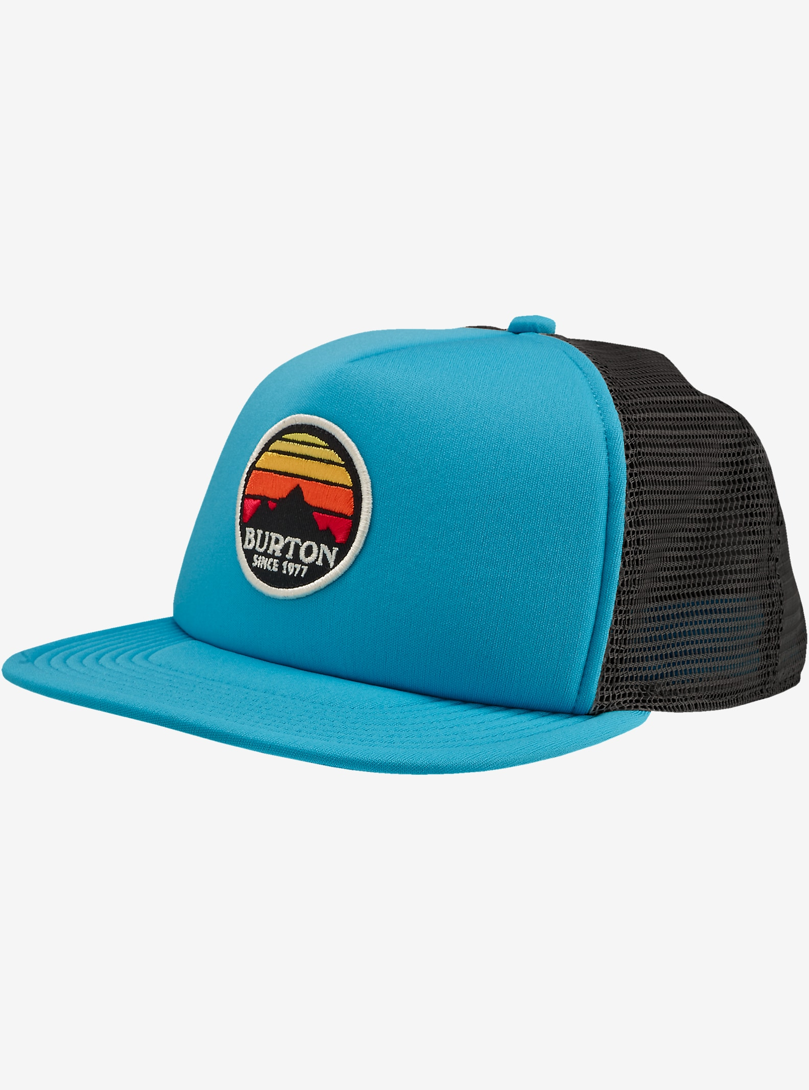 Burton Sunset Snapback Trucker Hat shown in Caneel Bay