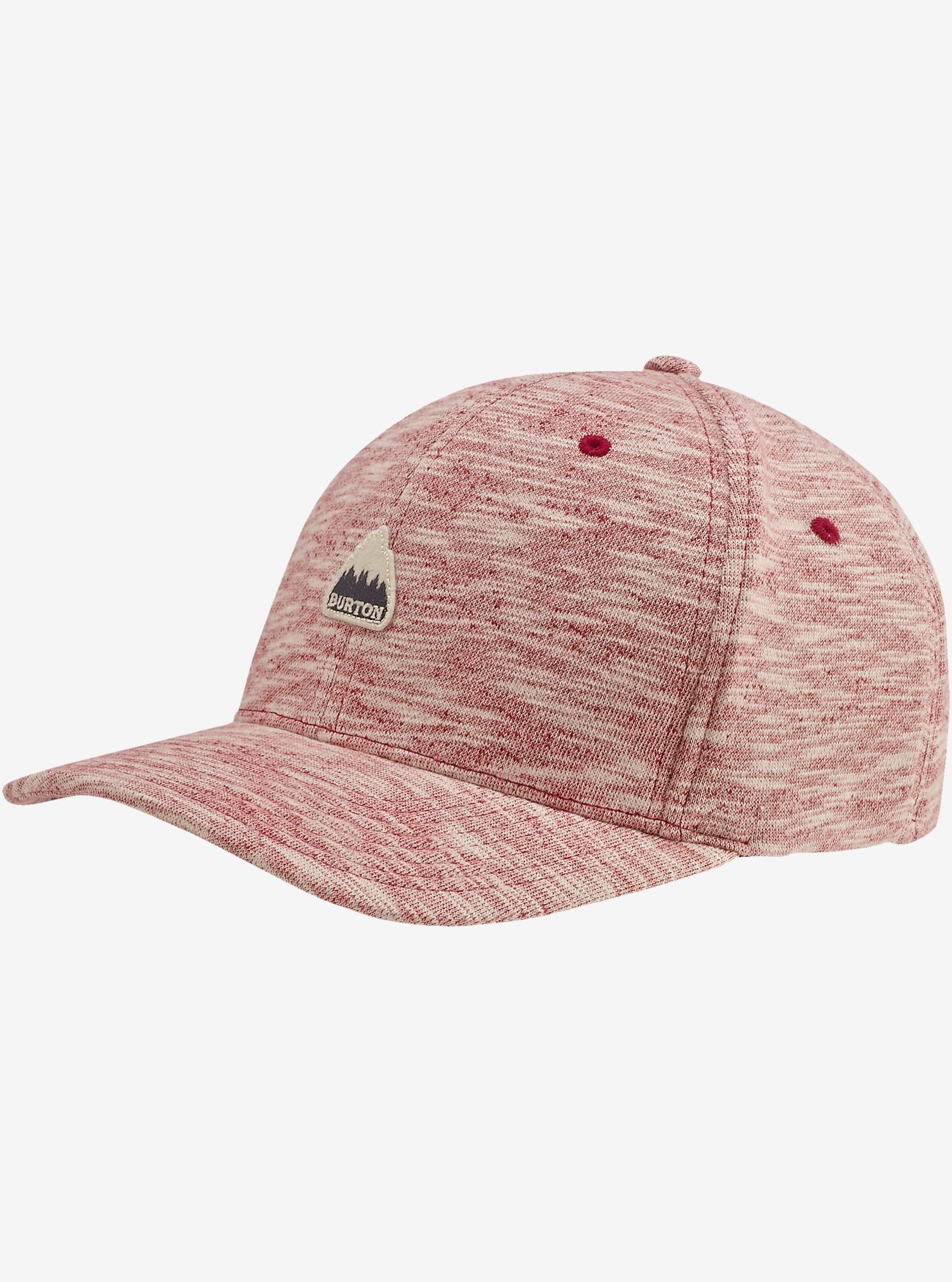 Burton Ace Flex Fit Hat shown in Brick Red
