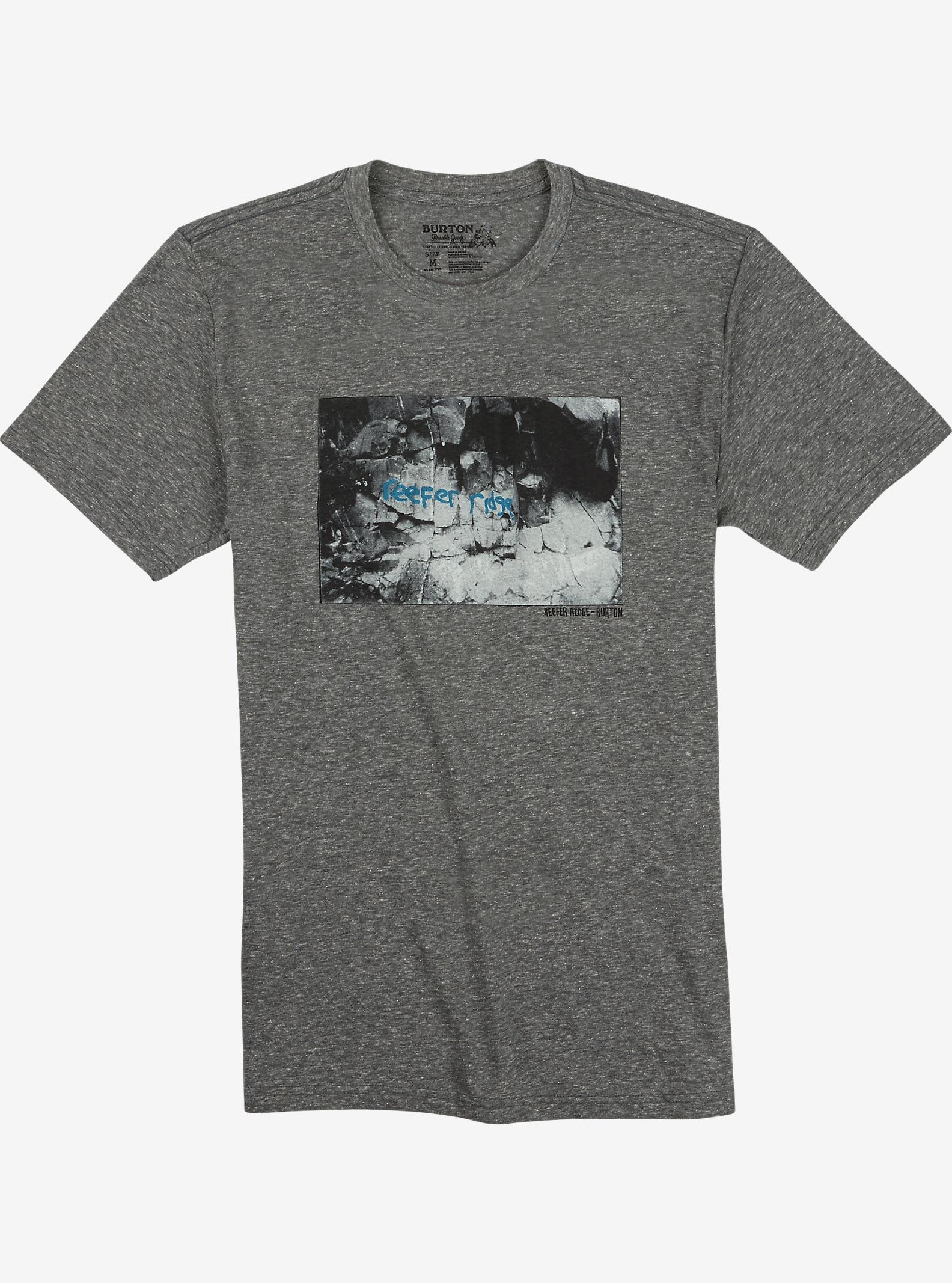 Burton Reefer Ridge T-Shirt in Slim-Fit angezeigt in Gray Heather