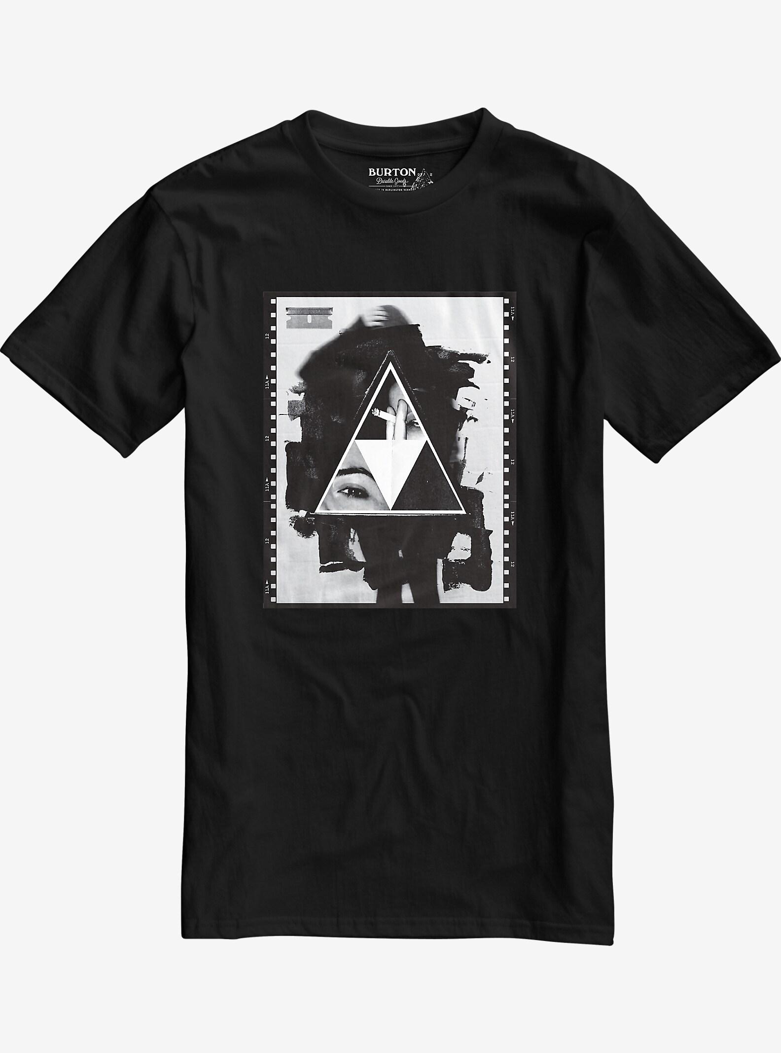 Burton Stockman Short Sleeve T Shirt shown in True Black