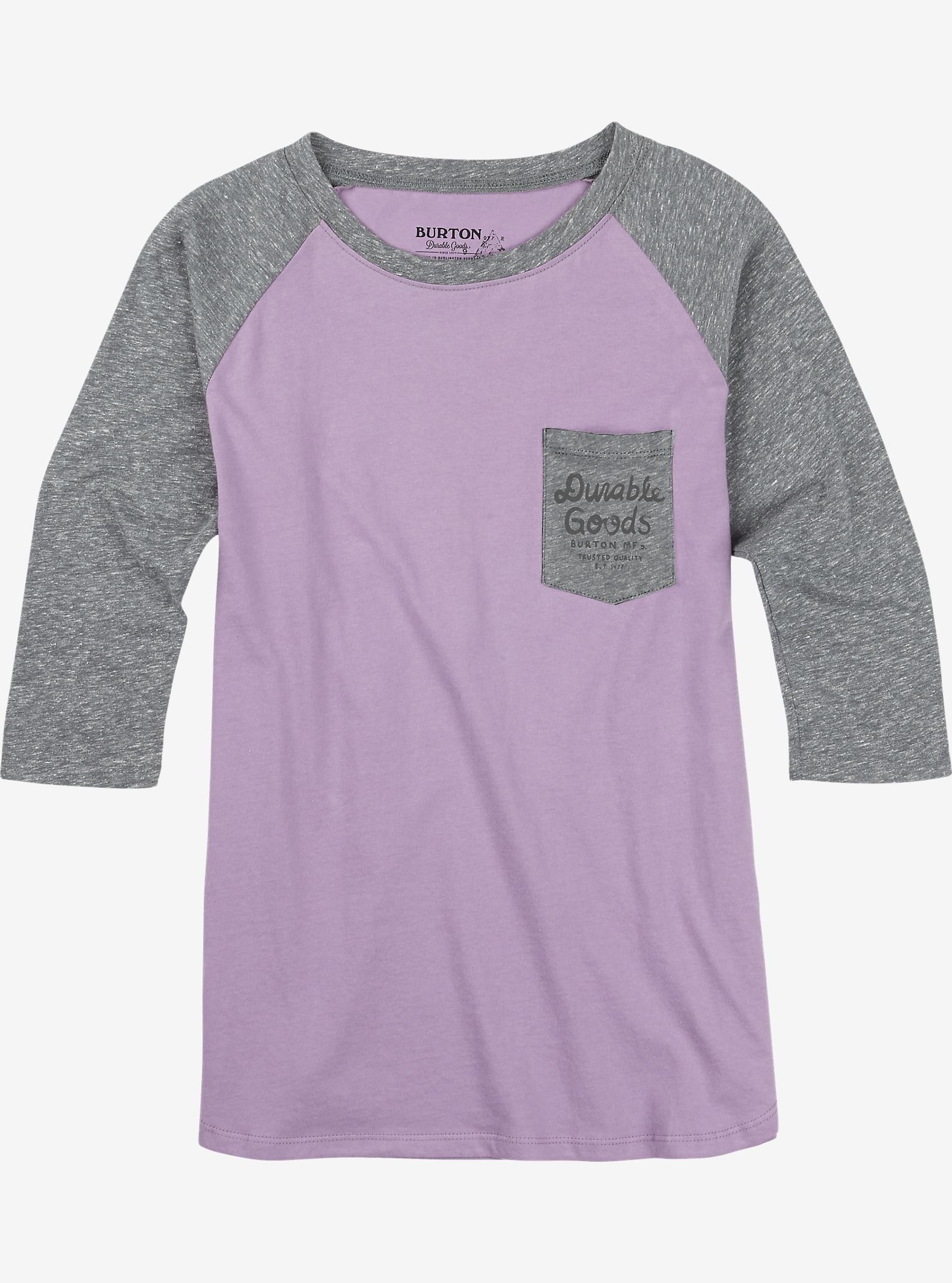 Burton Trusted Raglan T Shirt shown in Dusty Grape