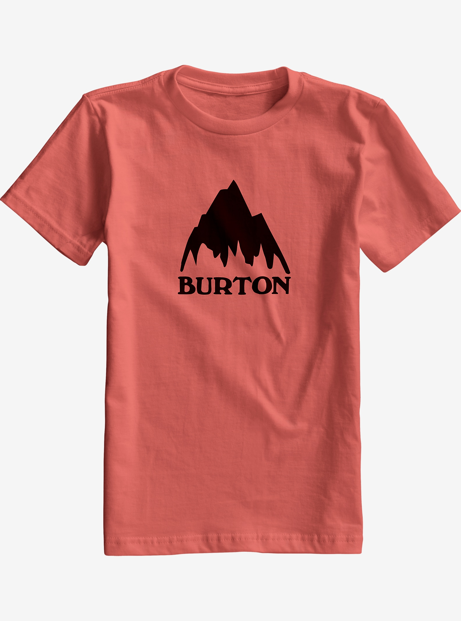 Burton Boys' Classic Mountain Short Sleeve T Shirt shown in Dusty Cedar