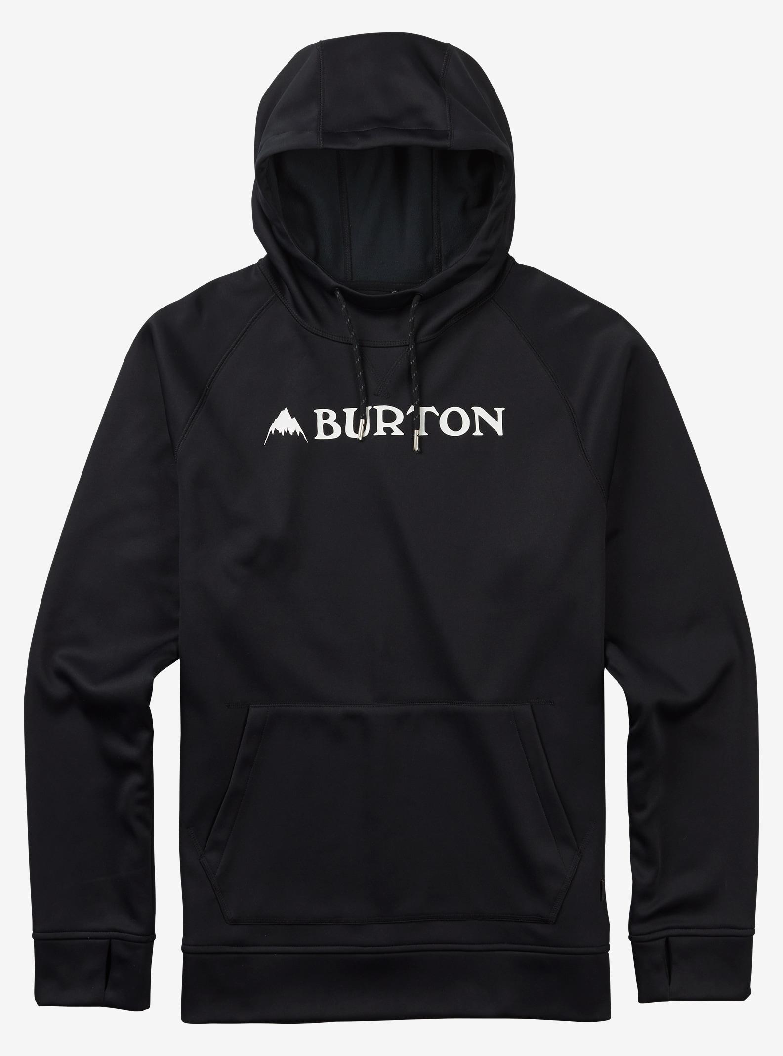 Burton Crown Bonded Hoodie angezeigt in True Black