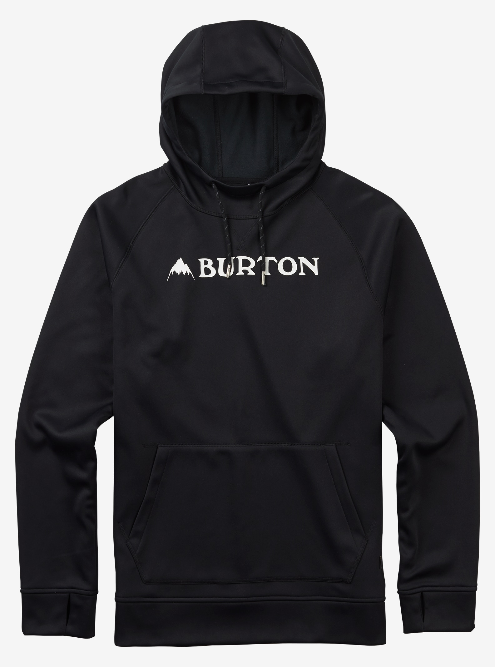 Burton - Chandail à capuchon Crown Bonded affichage en True Black