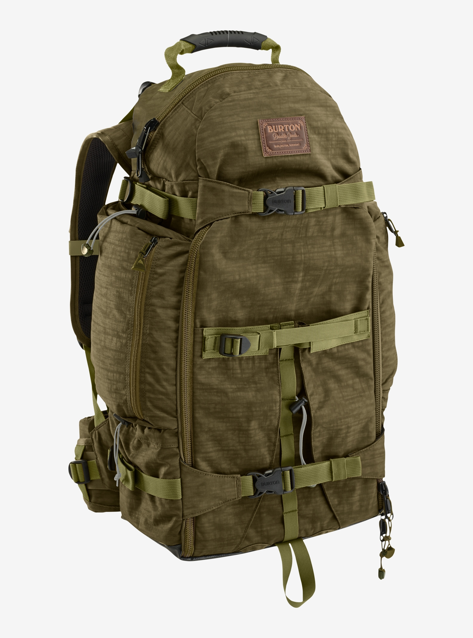 Burton F-Stop 28L Backpack shown in Drab Crinkle