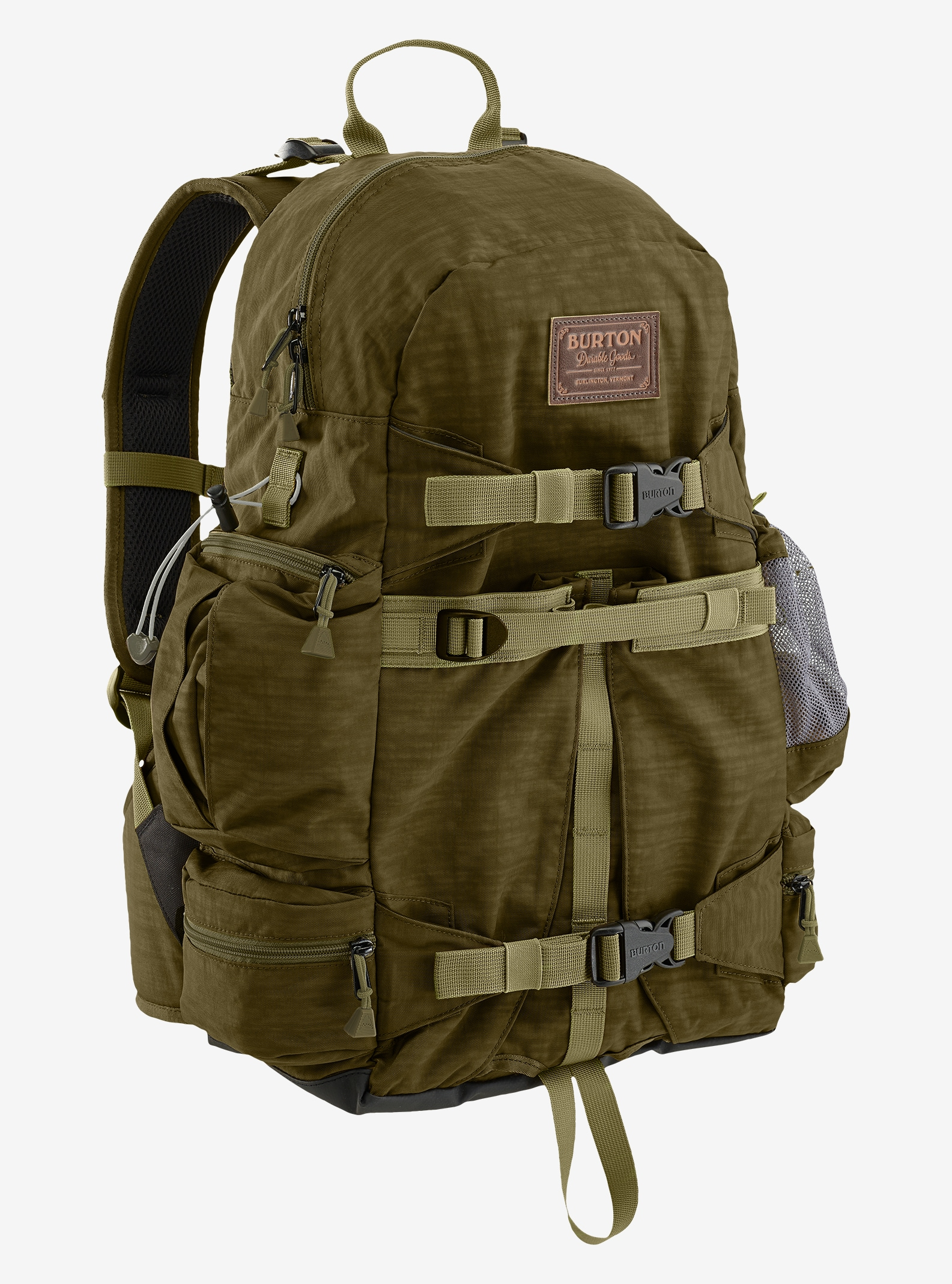Burton Zoom 26L Backpack shown in Drab Crinkle
